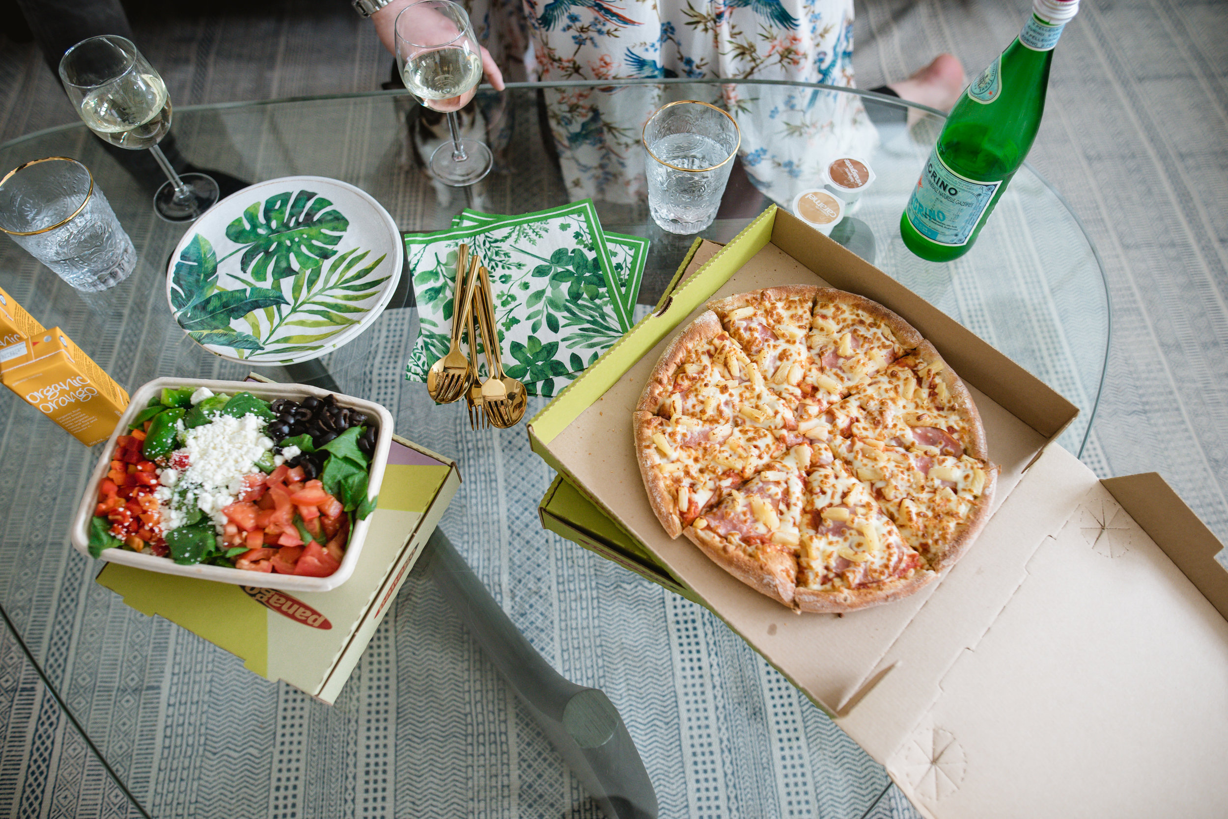 panago pizza organic