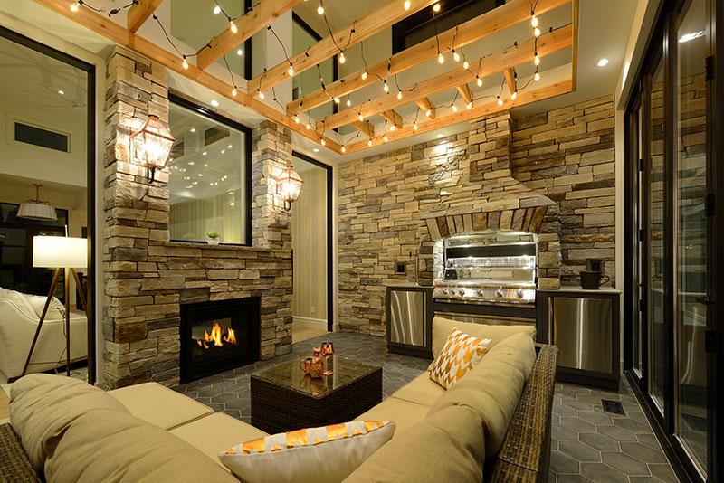 enclosed patio design