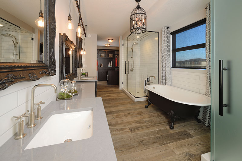 glamorous bathroom design