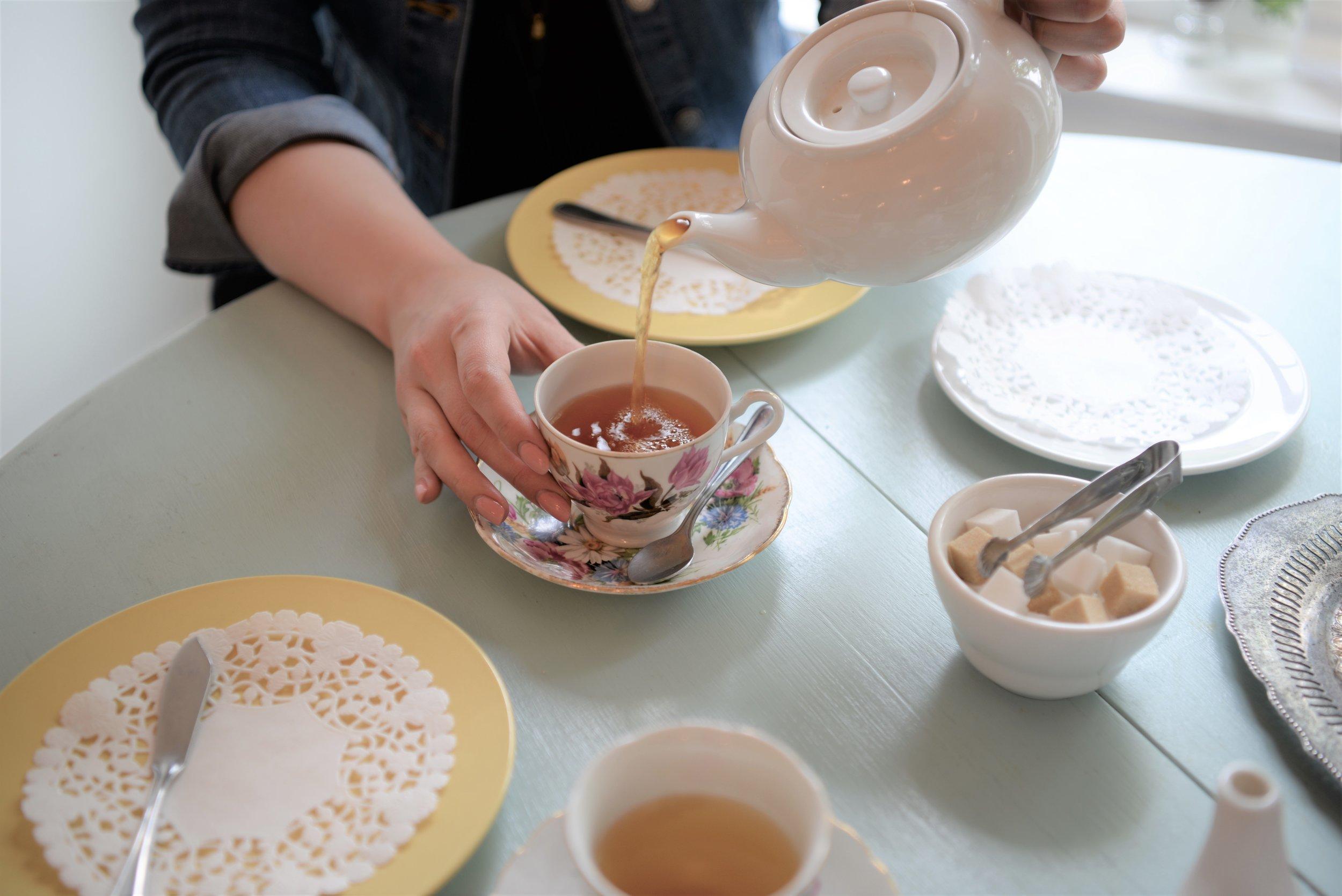 tracycakes high tea