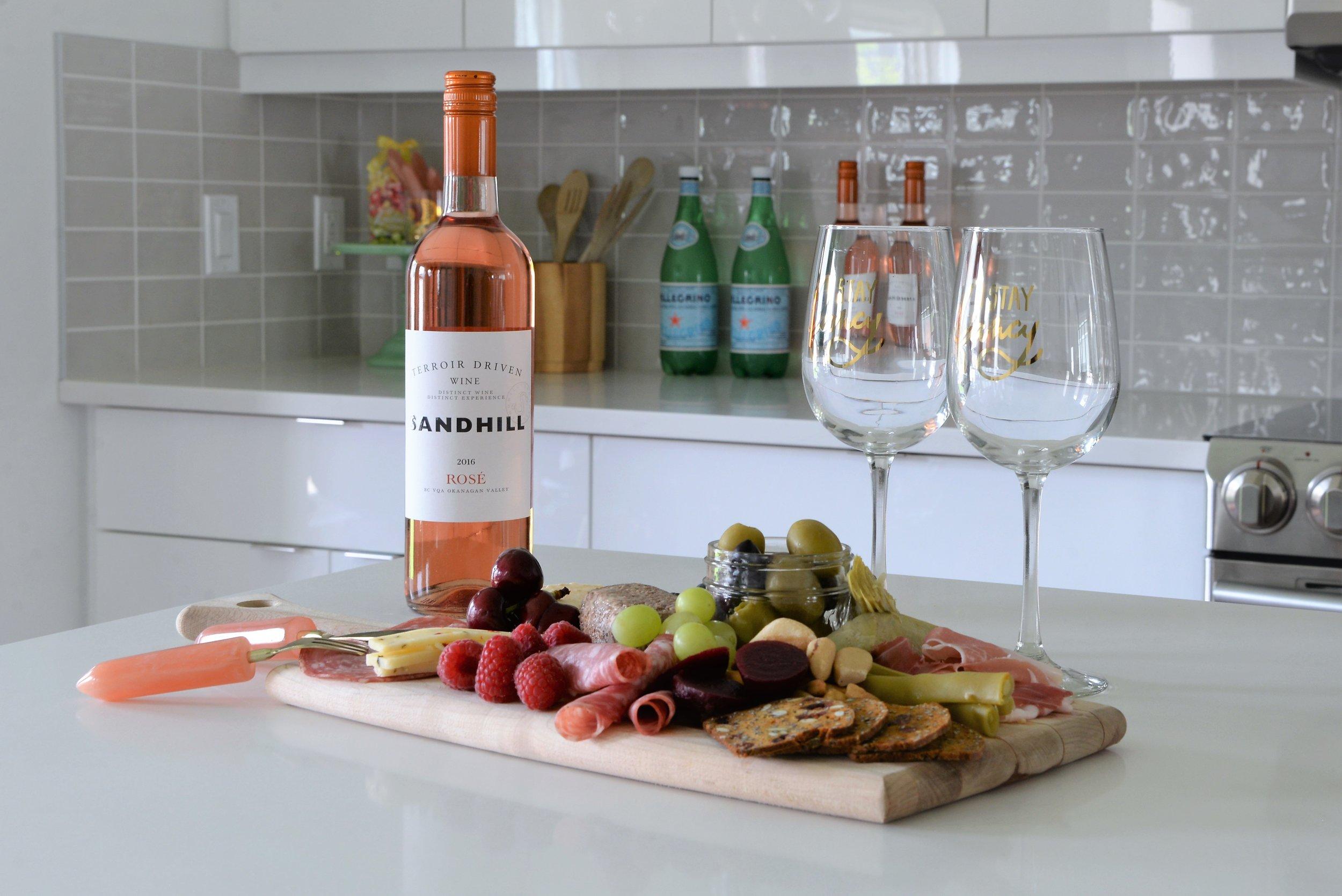 rosé wine pairings
