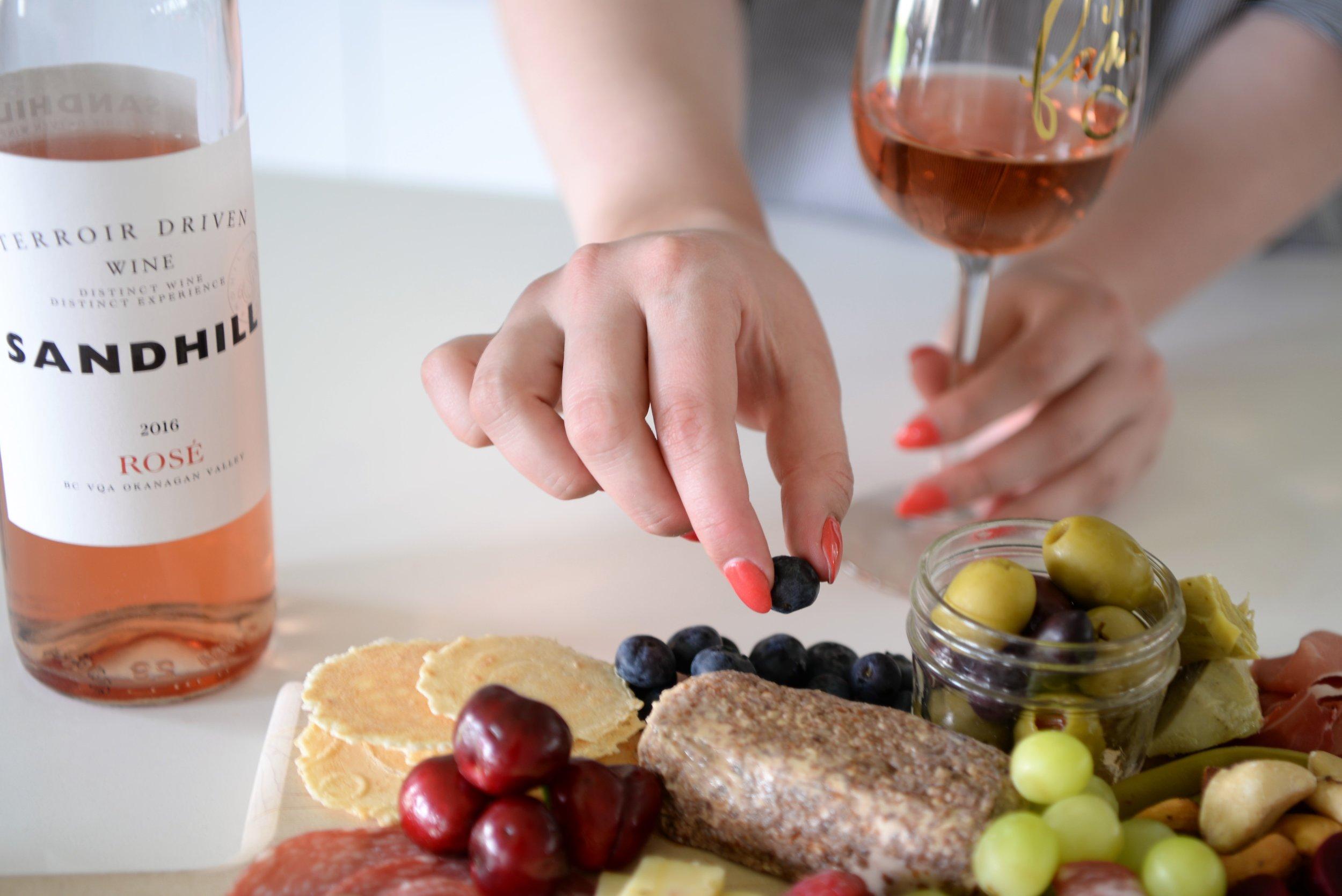 rose wine pairing