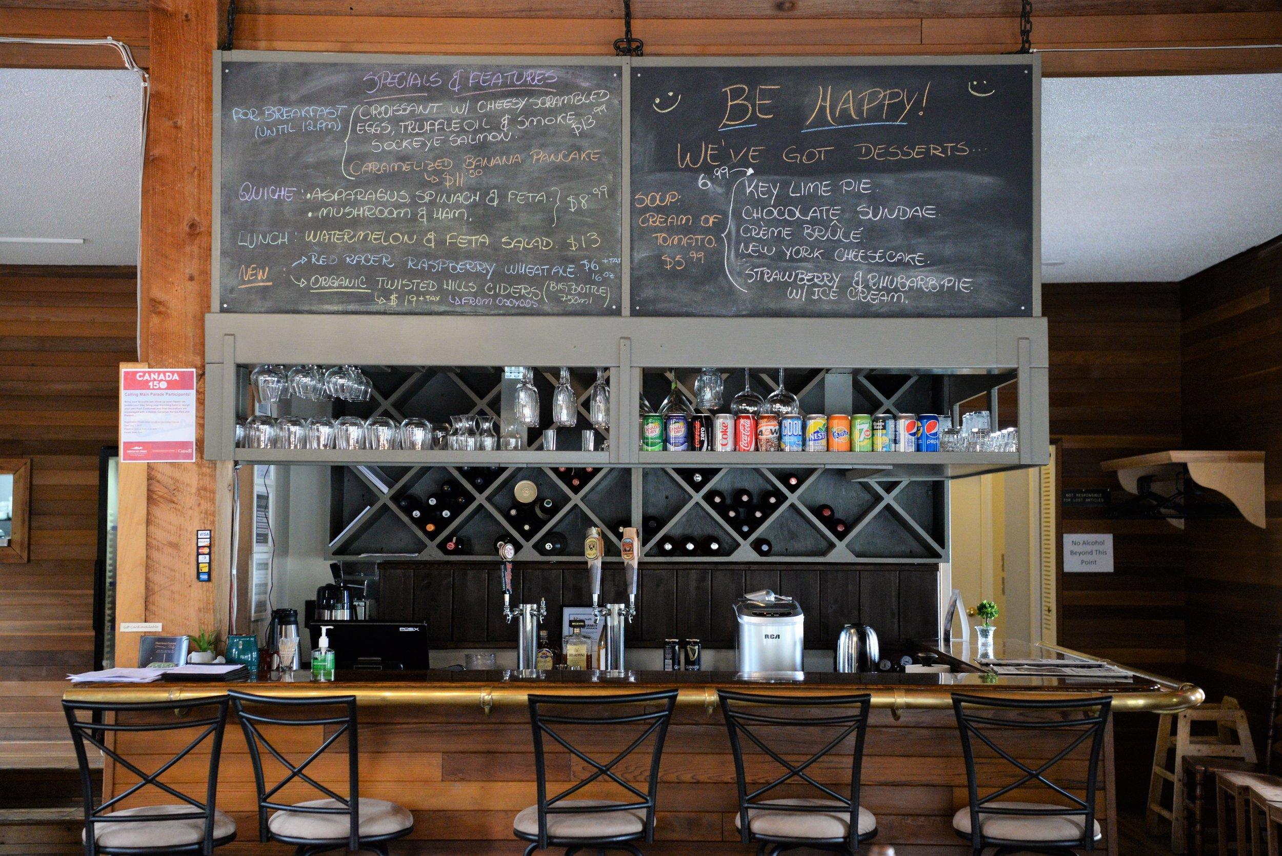 harrison corners cafe