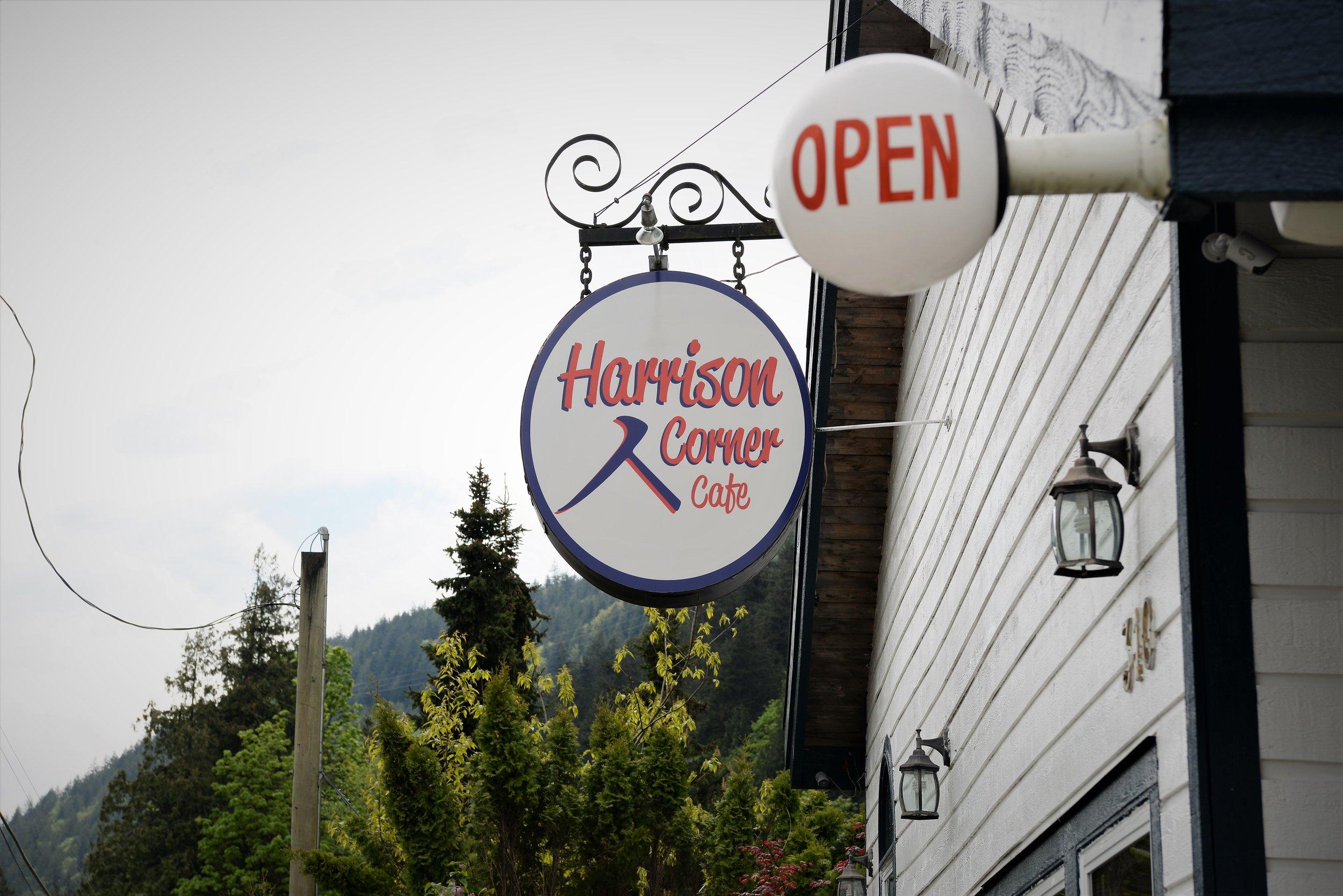 harrison corner cafe