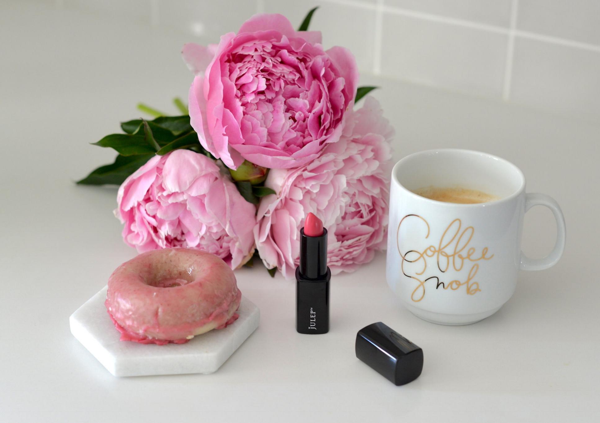 julep pink lipstick