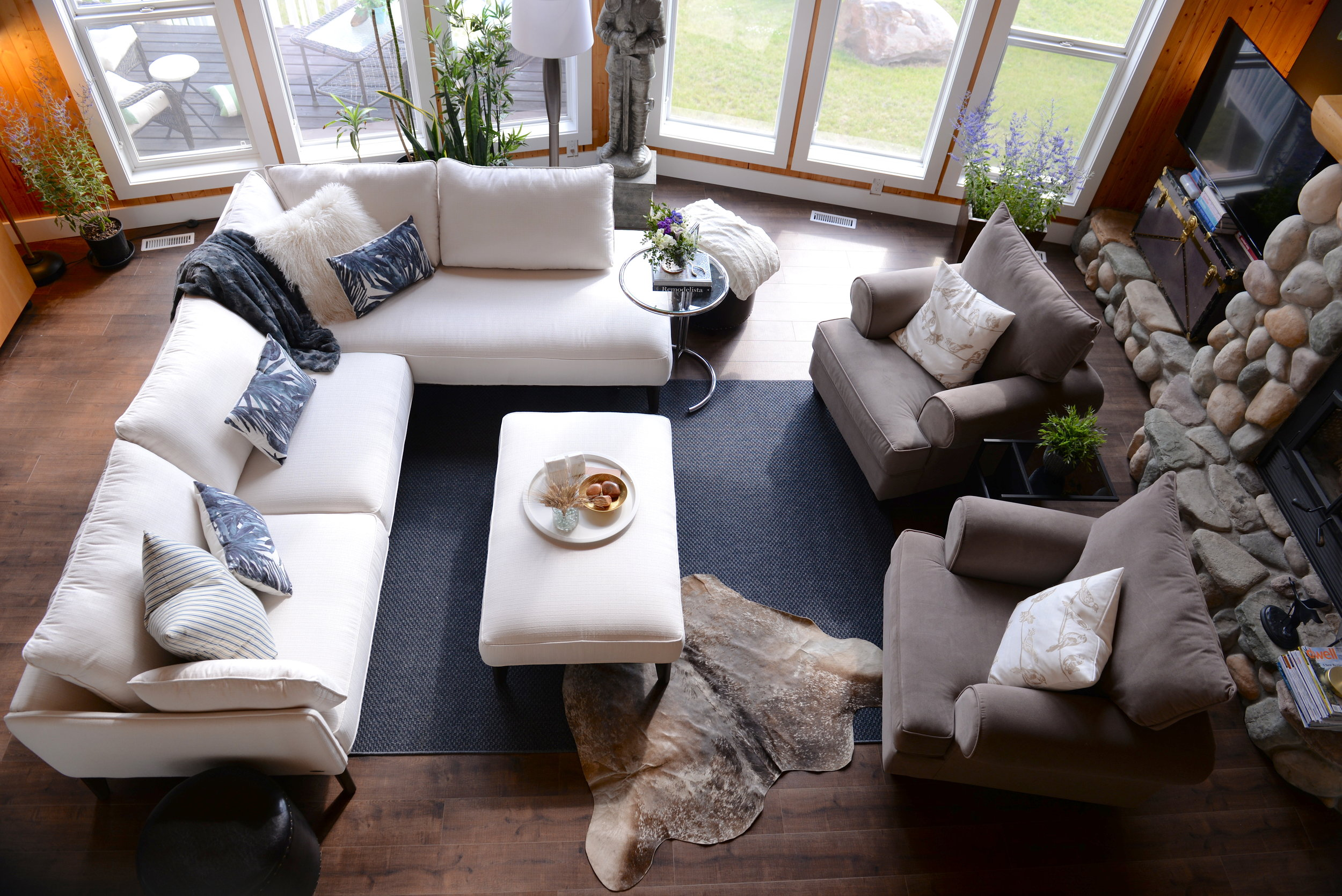 Modern Country Living Room — 204 PARK