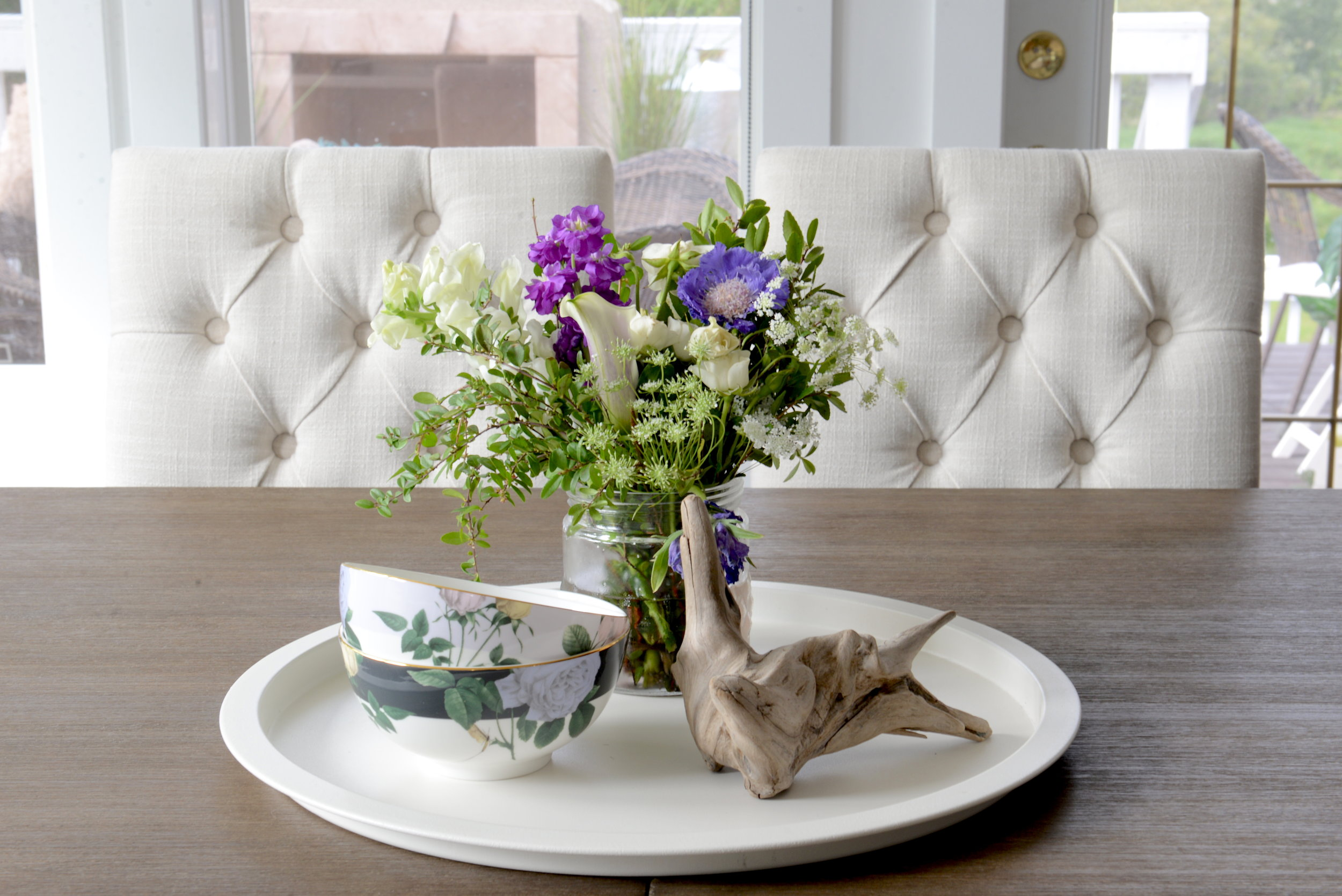 how to stye a dining room