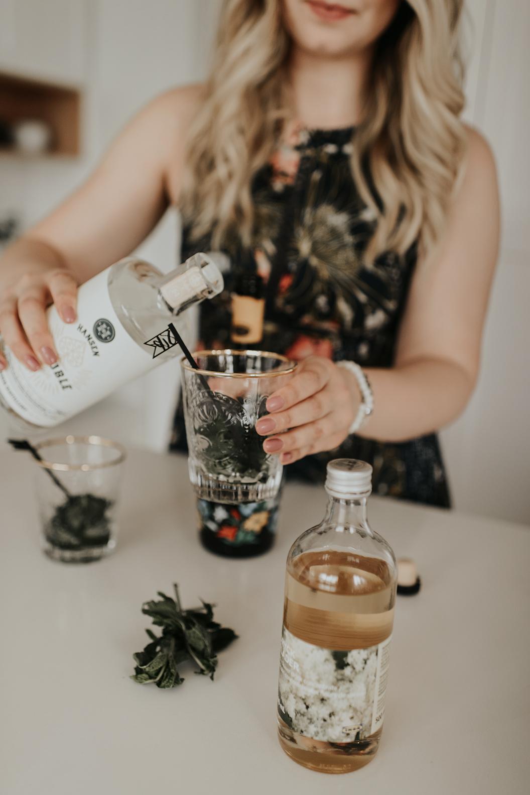 prosecco gin cocktail