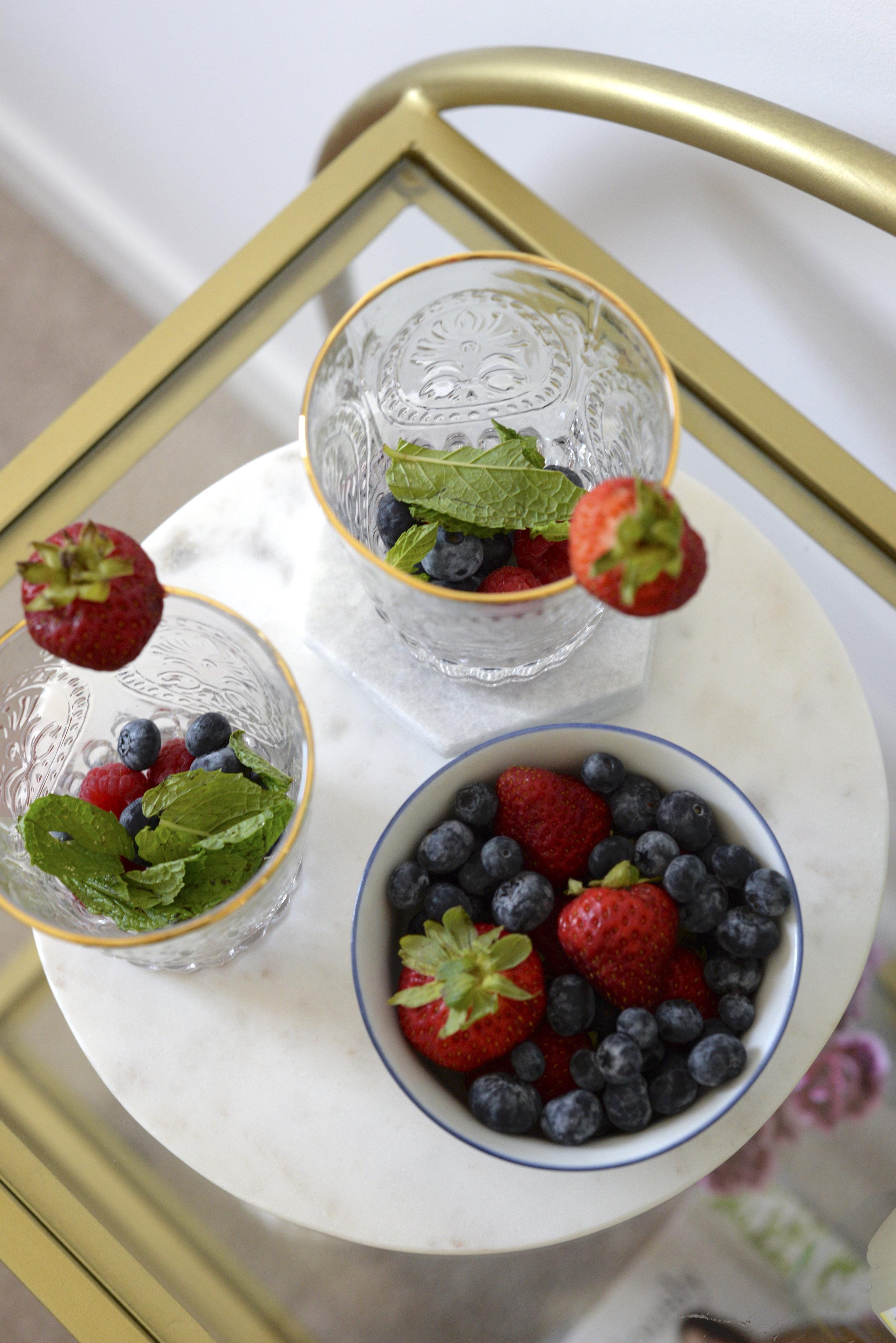 summer fruit punch