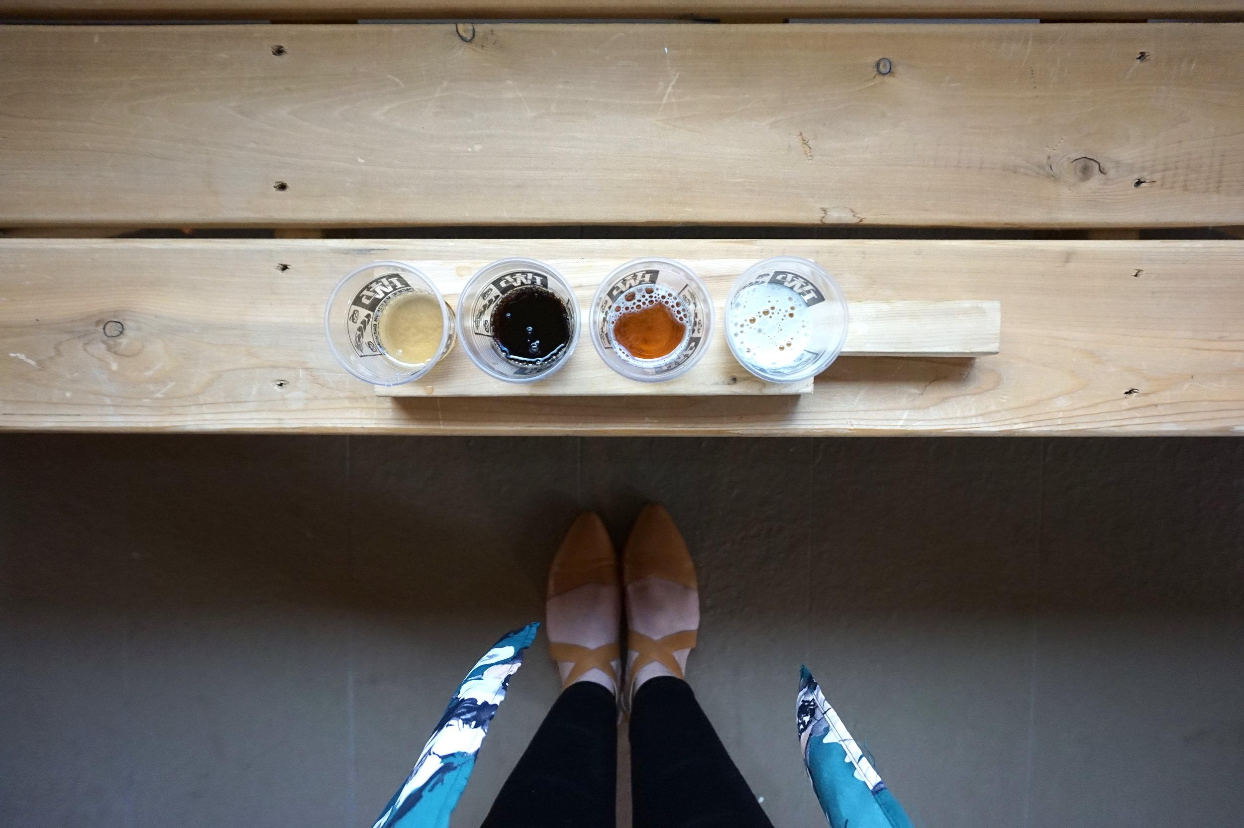 british columbia brewery and beer tasting