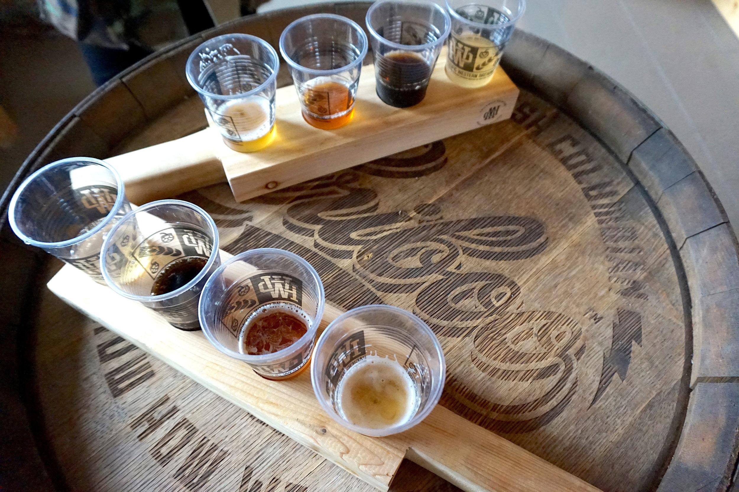 prince george brewery and beer tasting