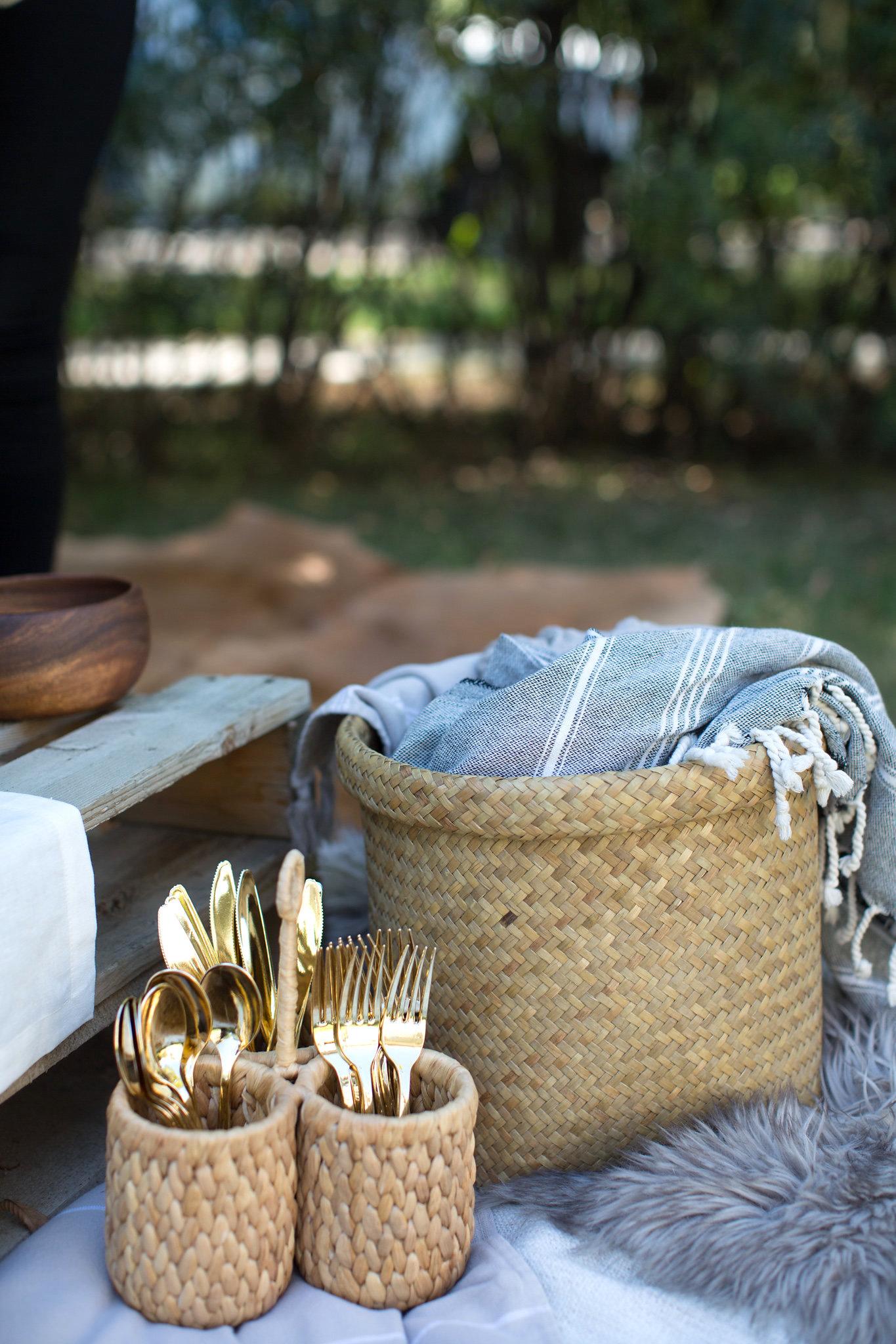 fall outdoor picnic