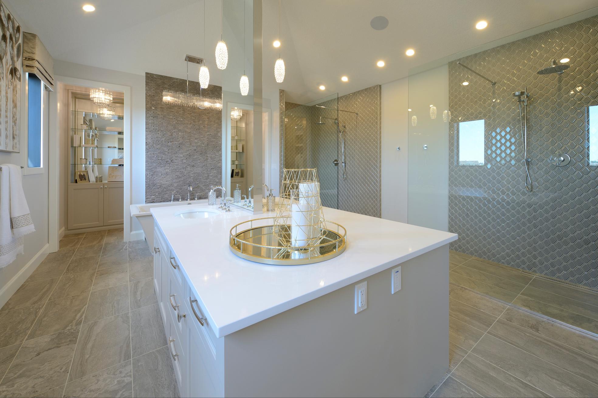 elegant washroom design