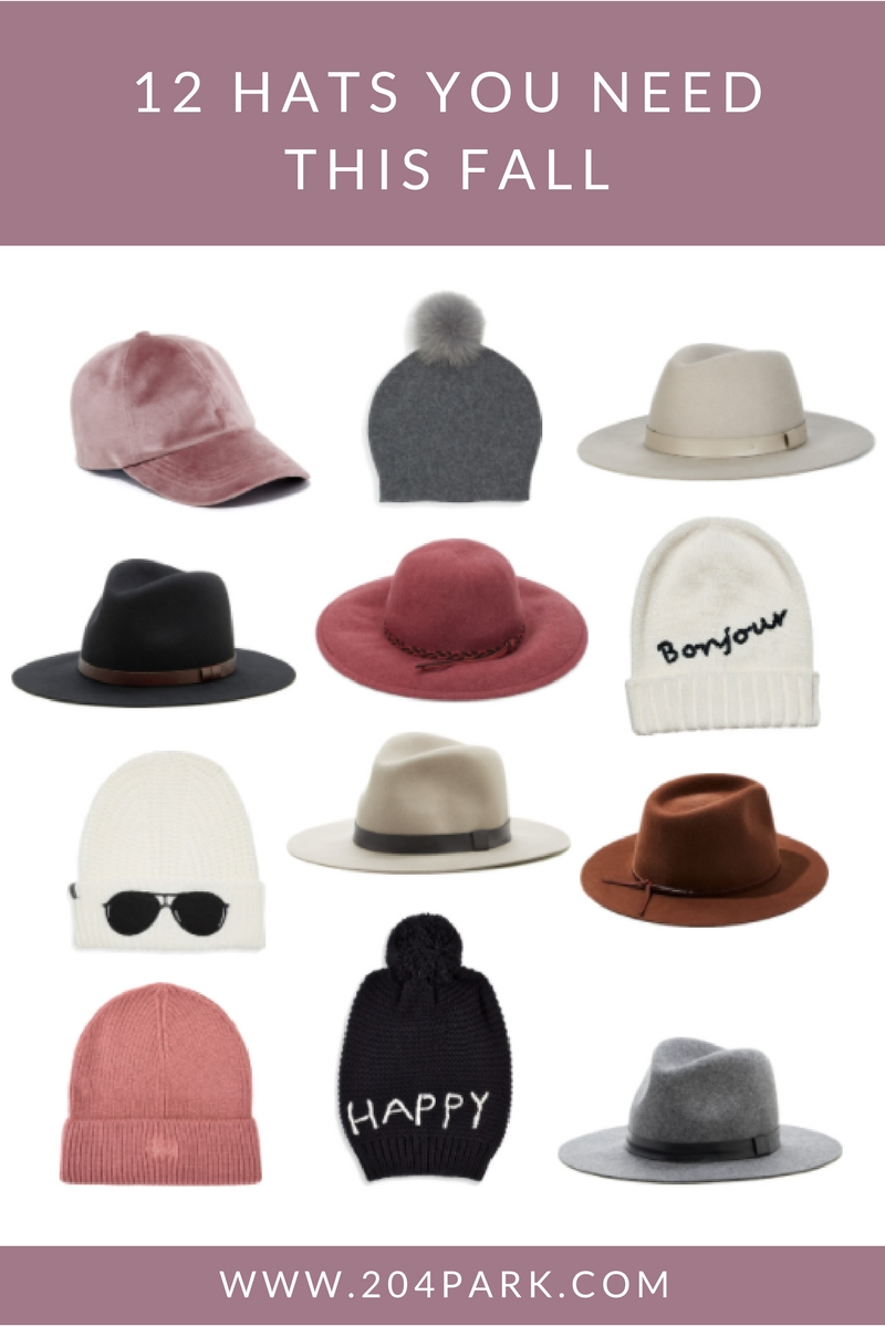 best hats for fall