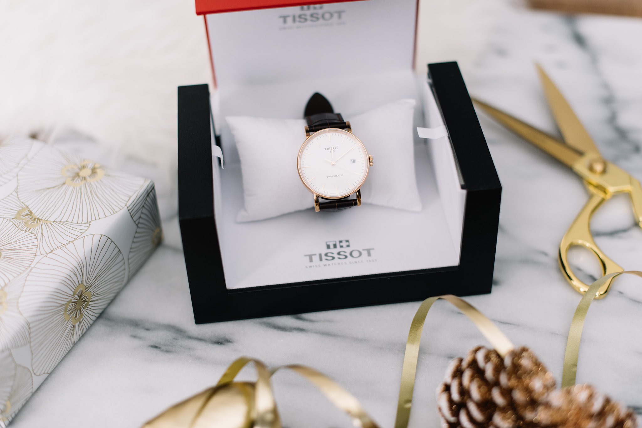 tissot watch, holiday gift for him