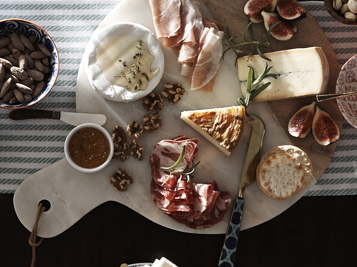 holiday entertaining charcuterie board
