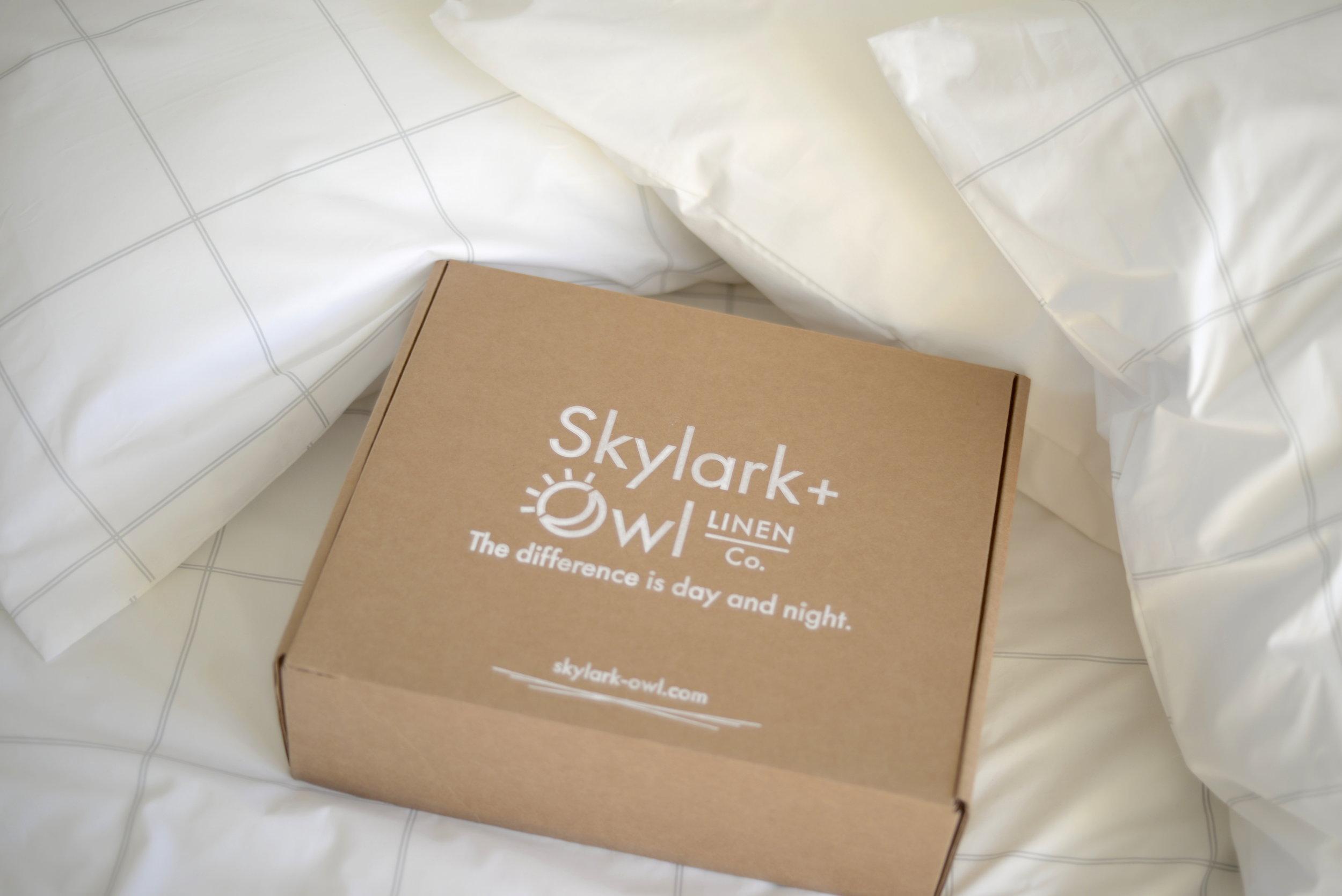 ethical bedding, skylark + owl bedding
