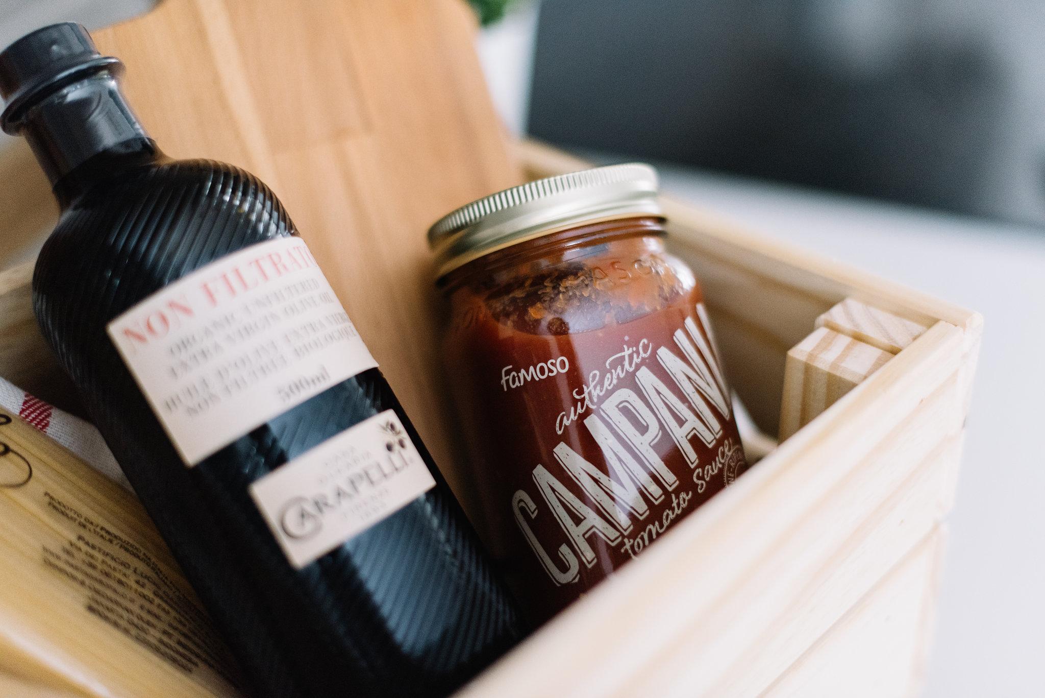 campania tomato sauce, famoso
