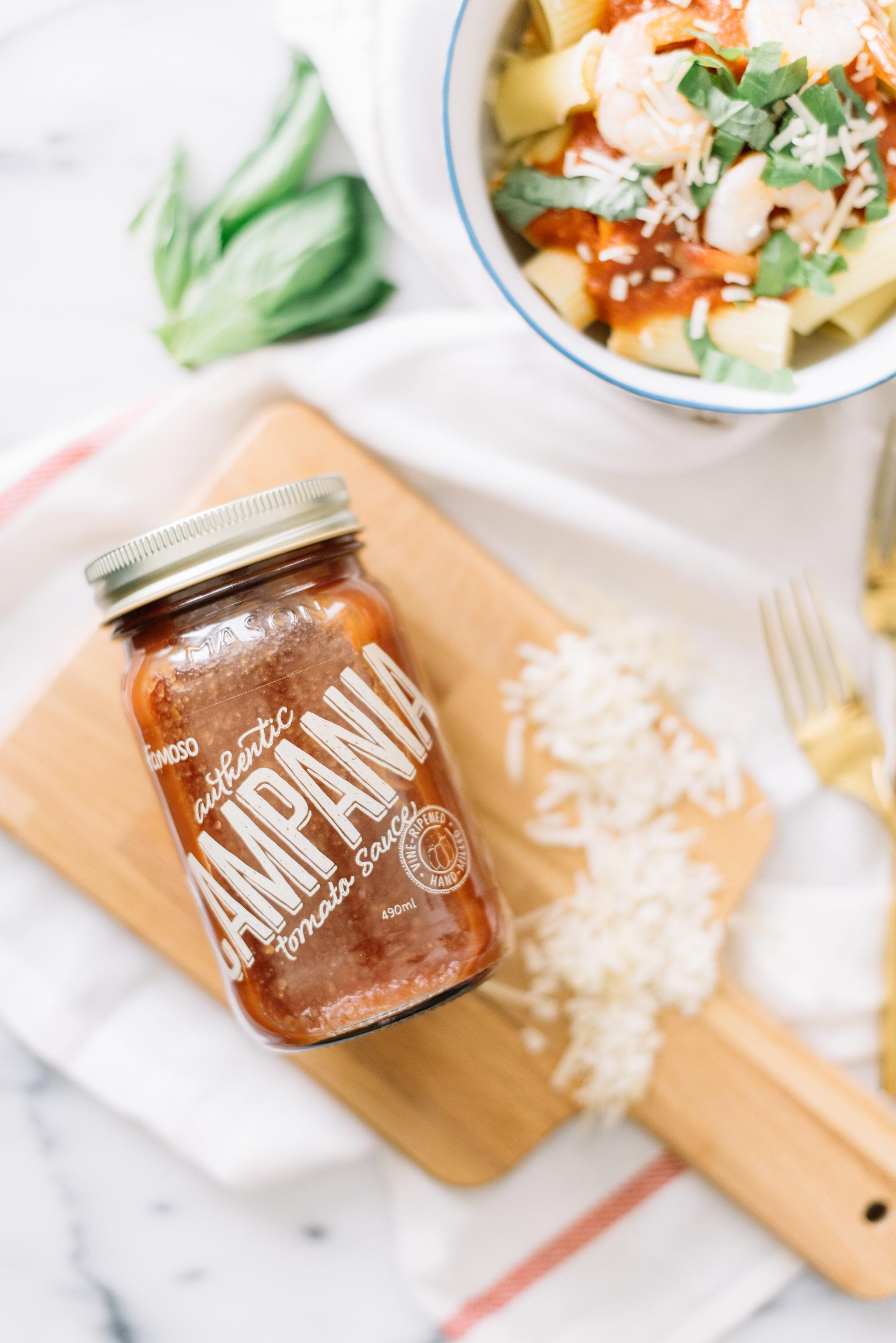 shrimp pasta recipe, quick, easy