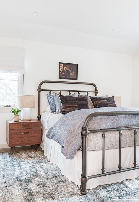 peaceful bedroom design, calming bedroom