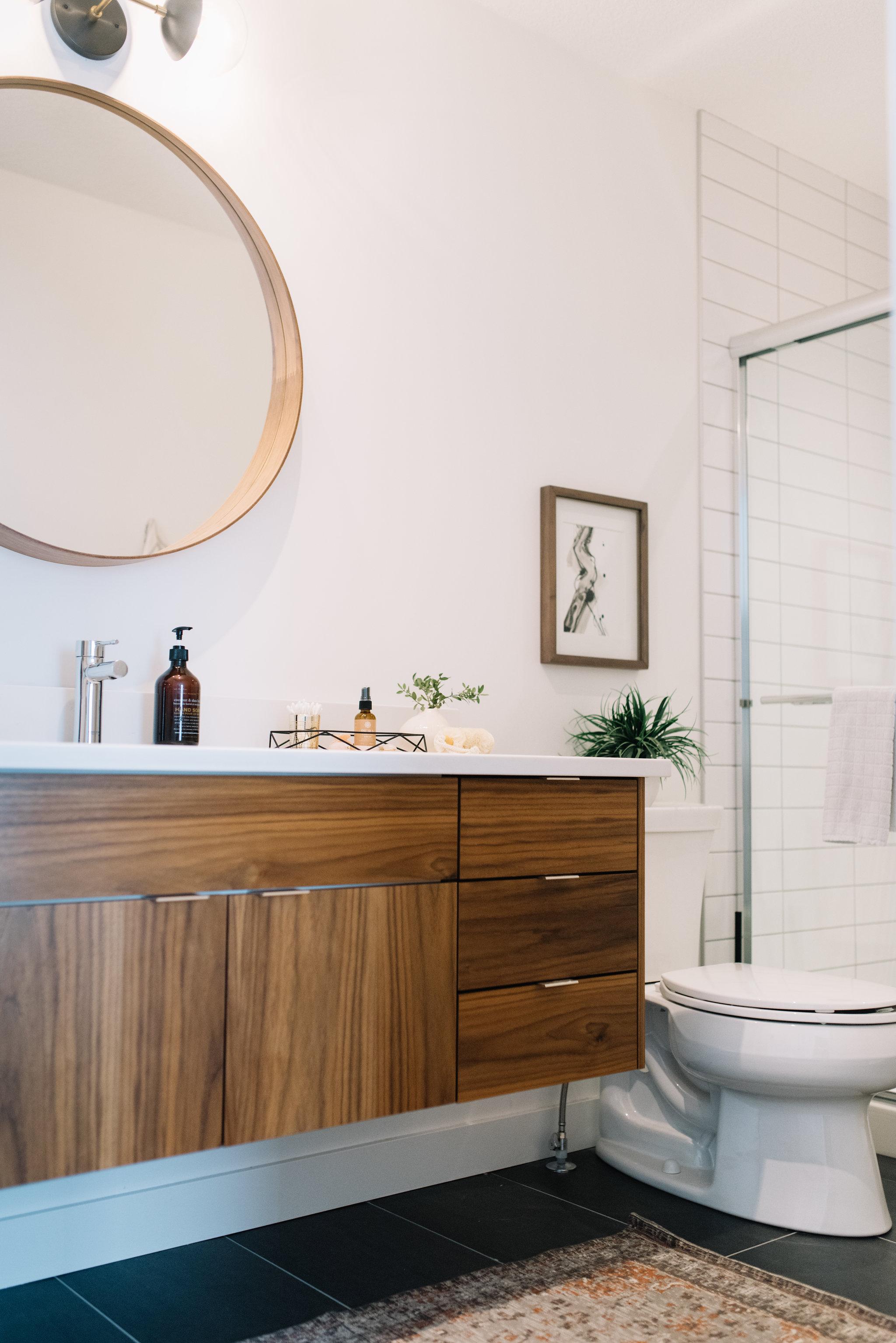 Modern Bathroom Reveal 204 Park