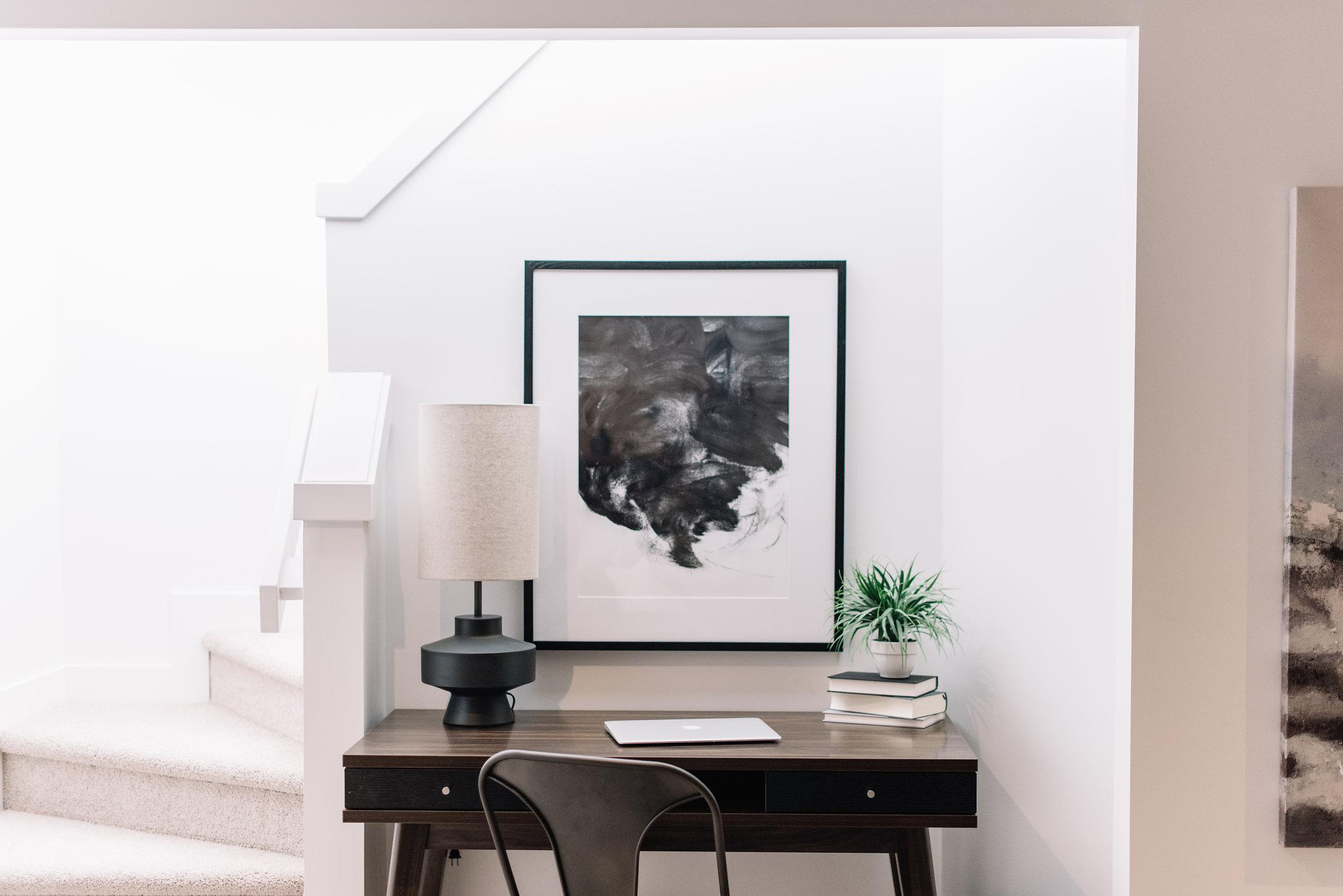 modern office, minimalist office