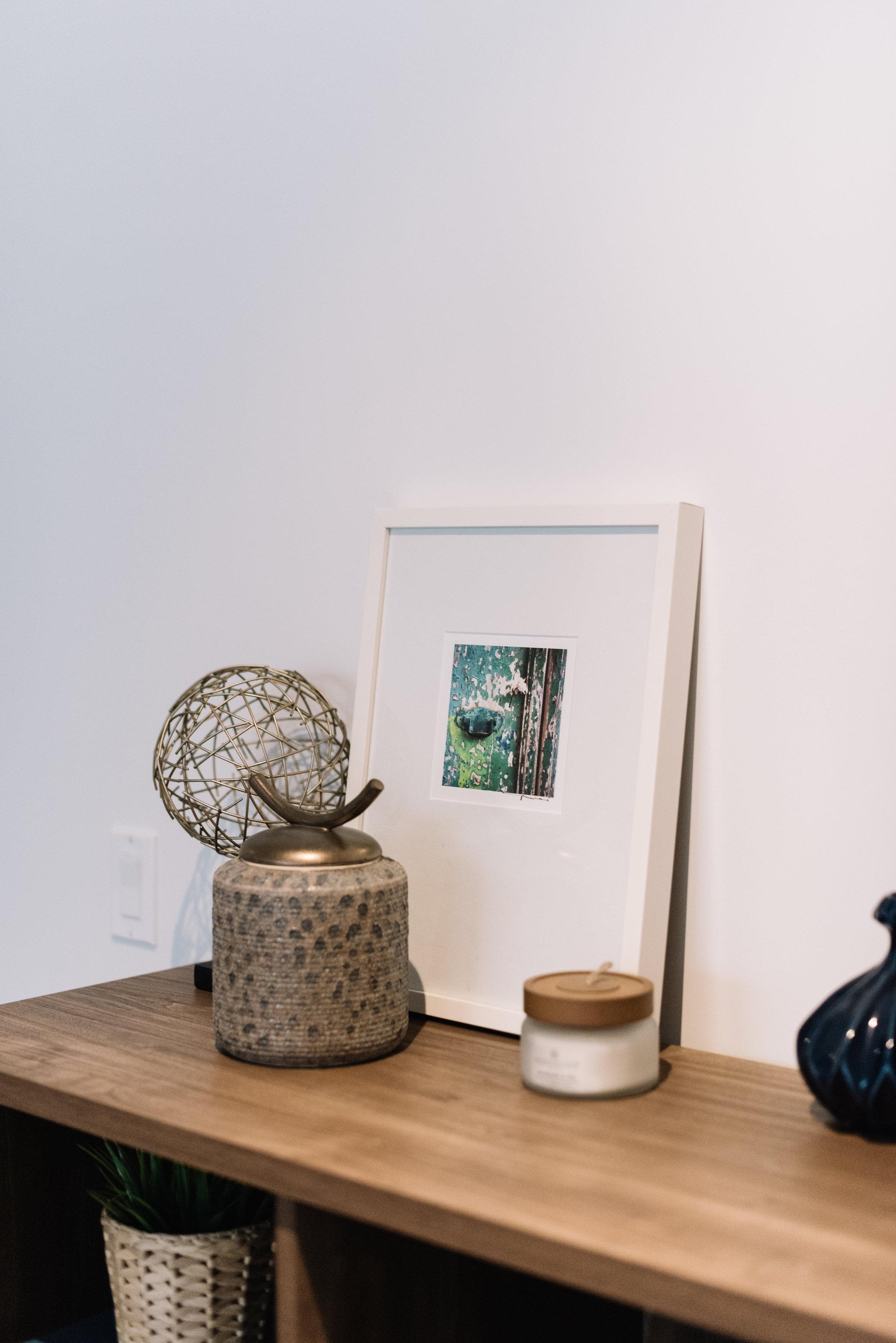 mid century modern shelf