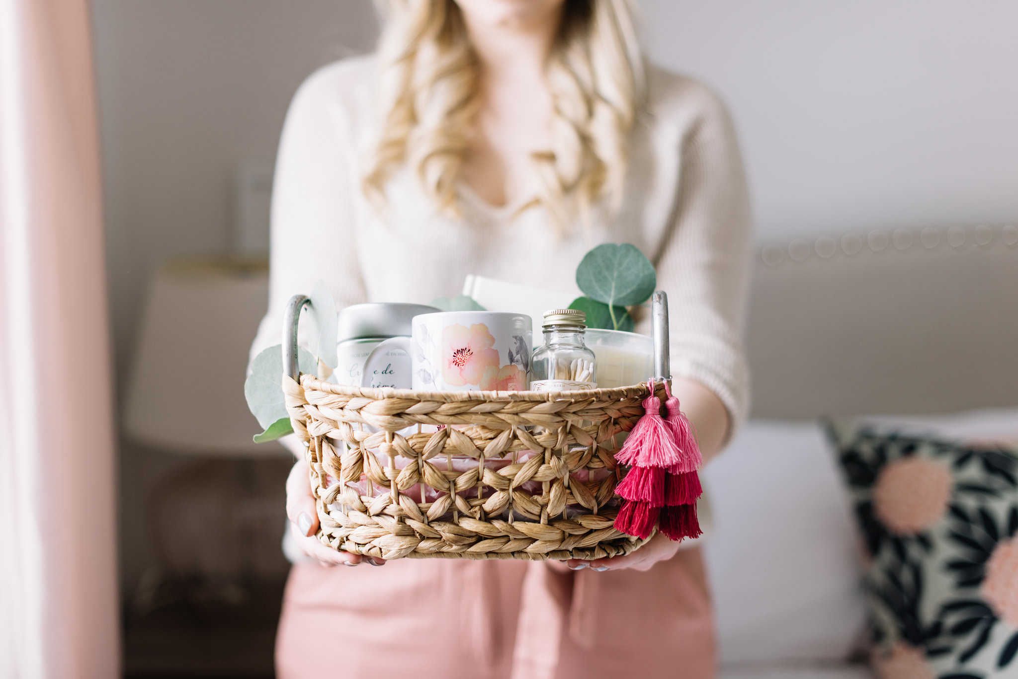 DIY mother's day gift basket