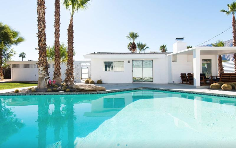 modern palm springs airbnb