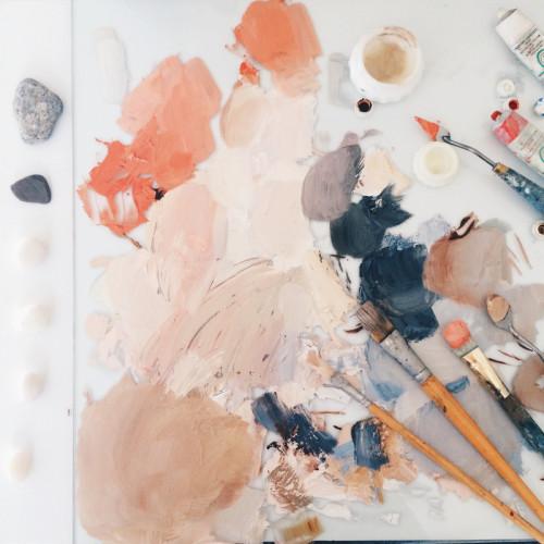 abstract artwork supplies