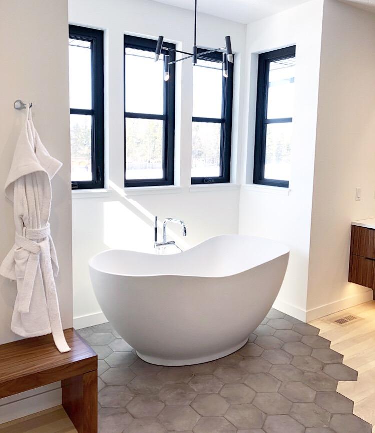 minimalist washroom design