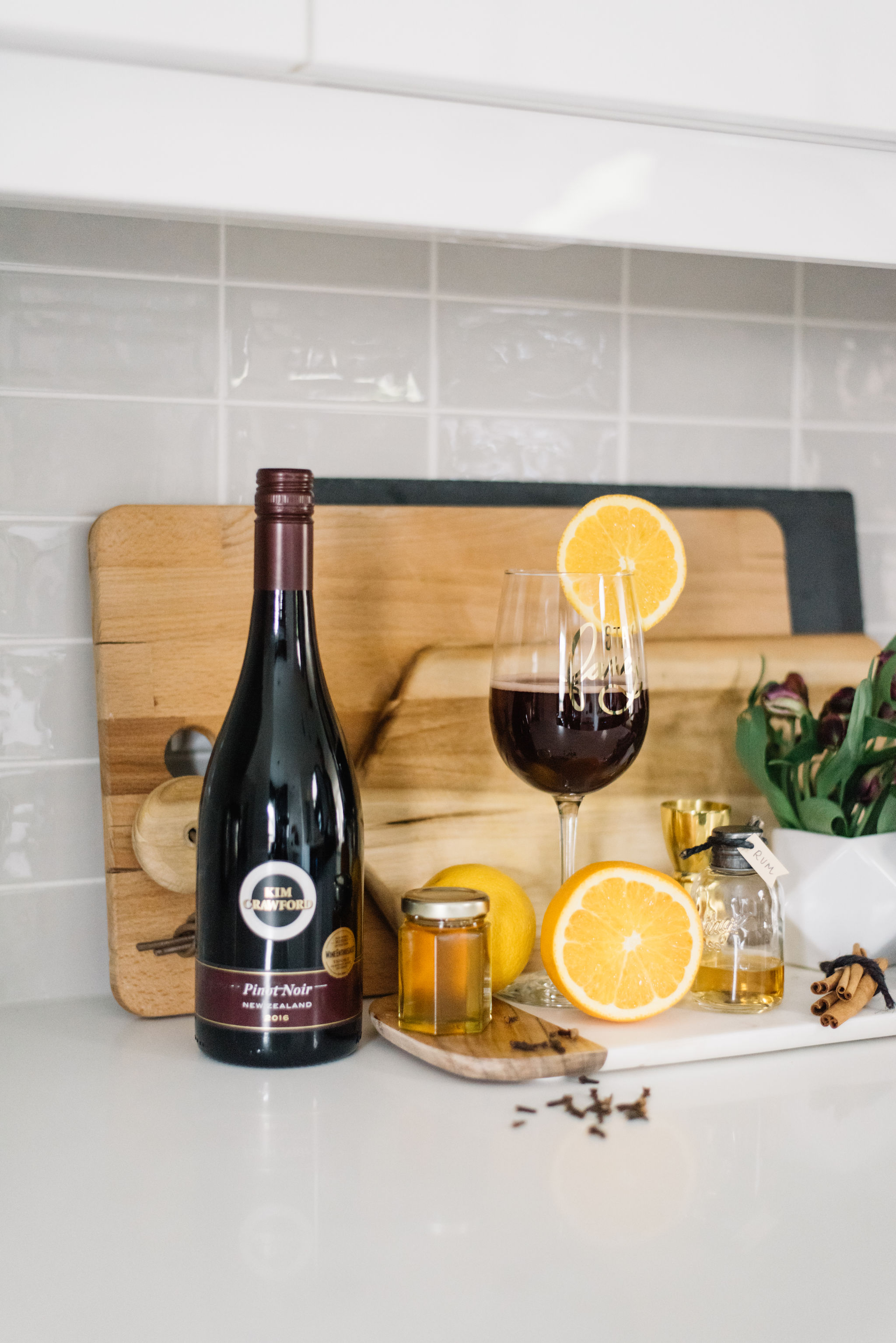 fall wine cocktail