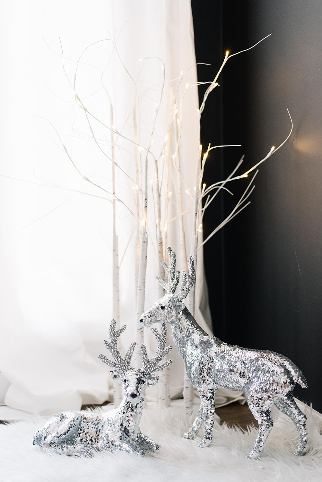 sparkling holiday decor