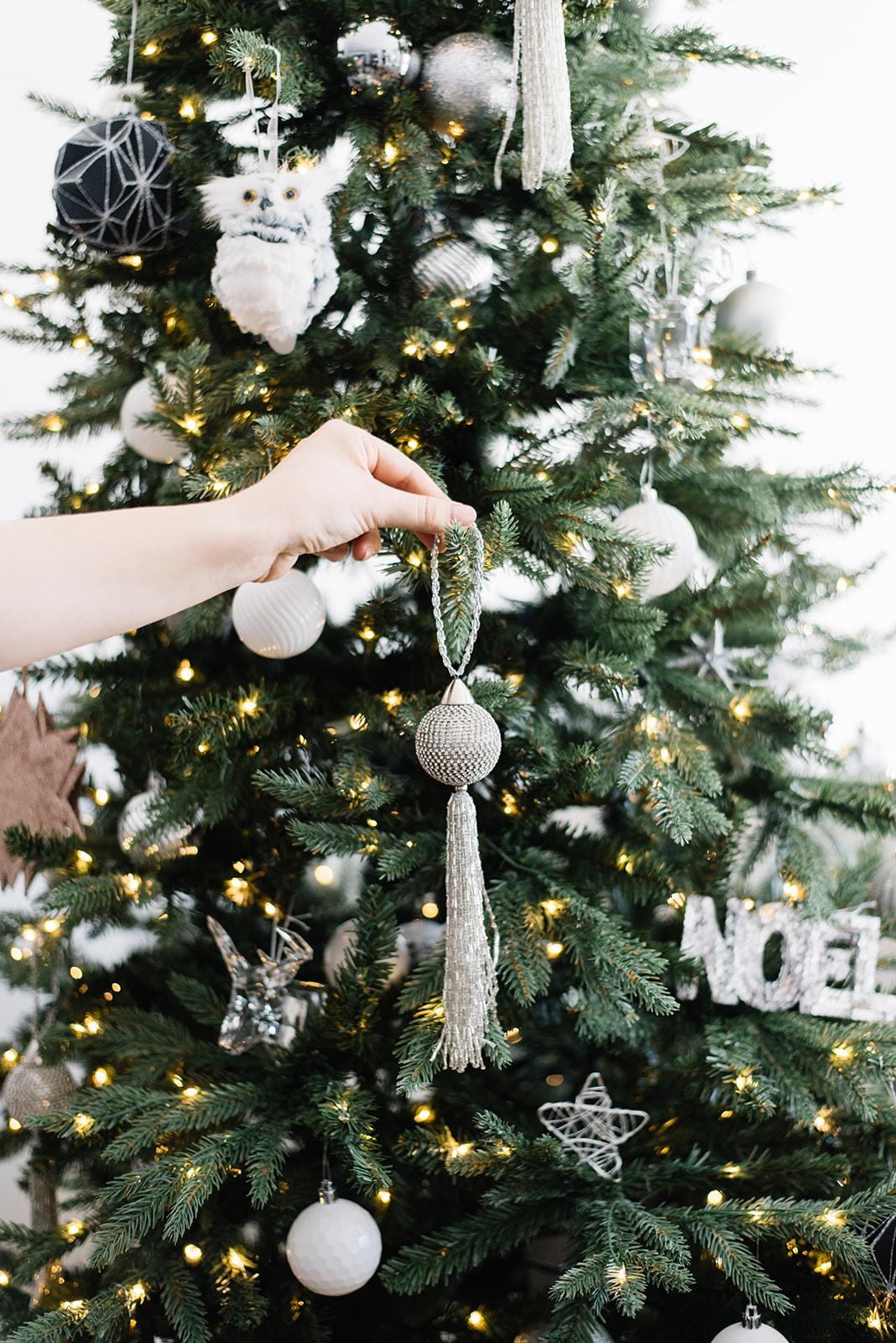 tassel christmas ornament