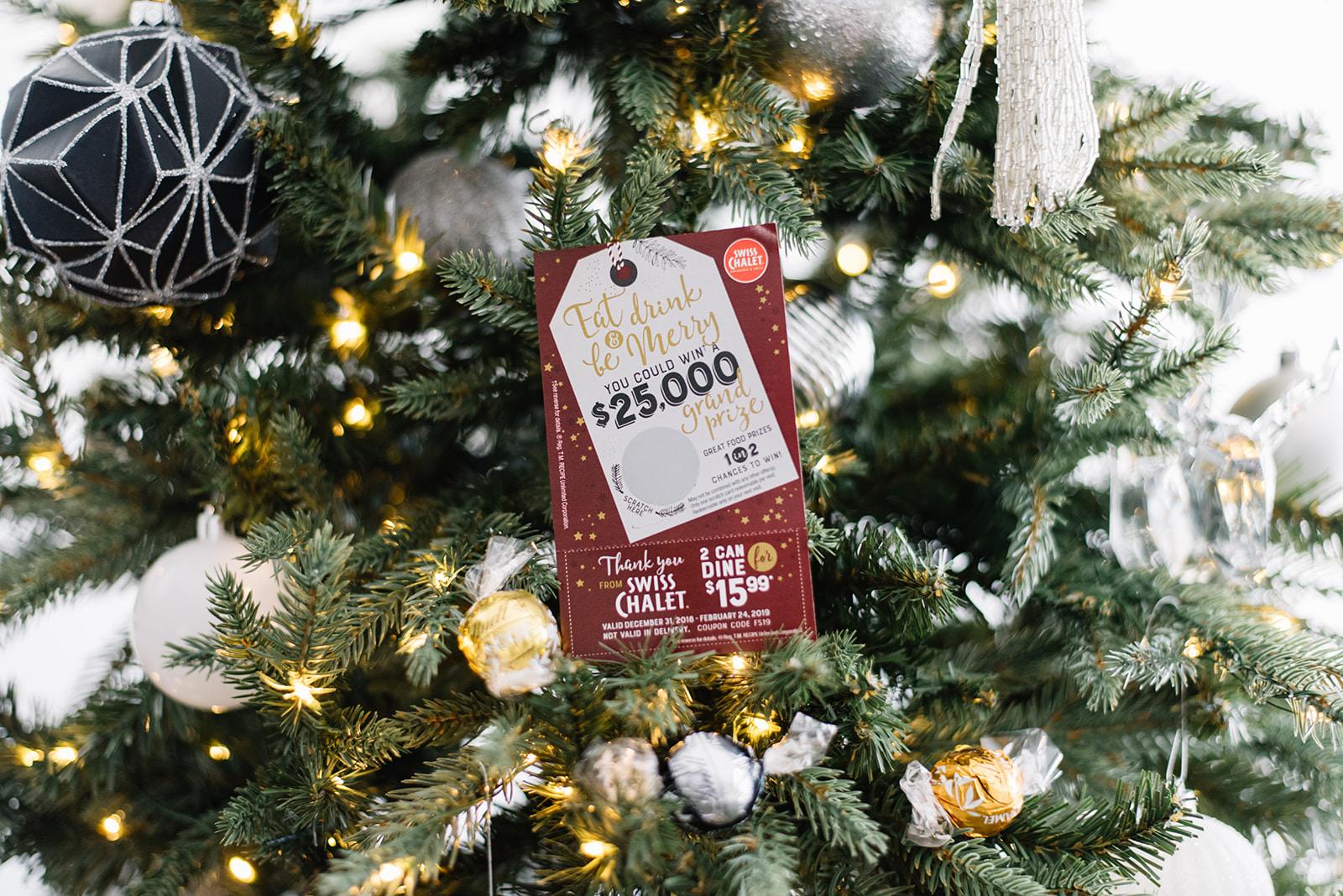 holiday festive special from swiss chalet