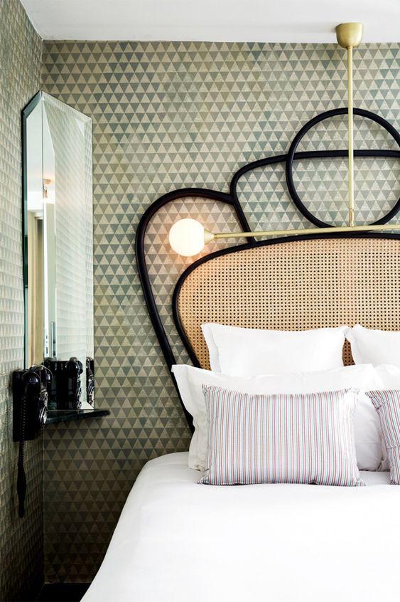 interior design trend - cane furniture