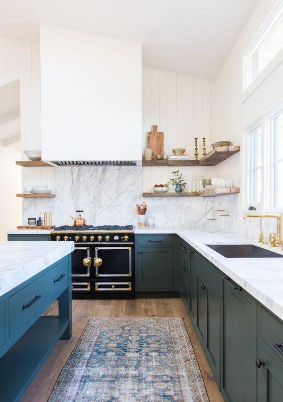 concealed hood range in kitchen, kitchen design trends