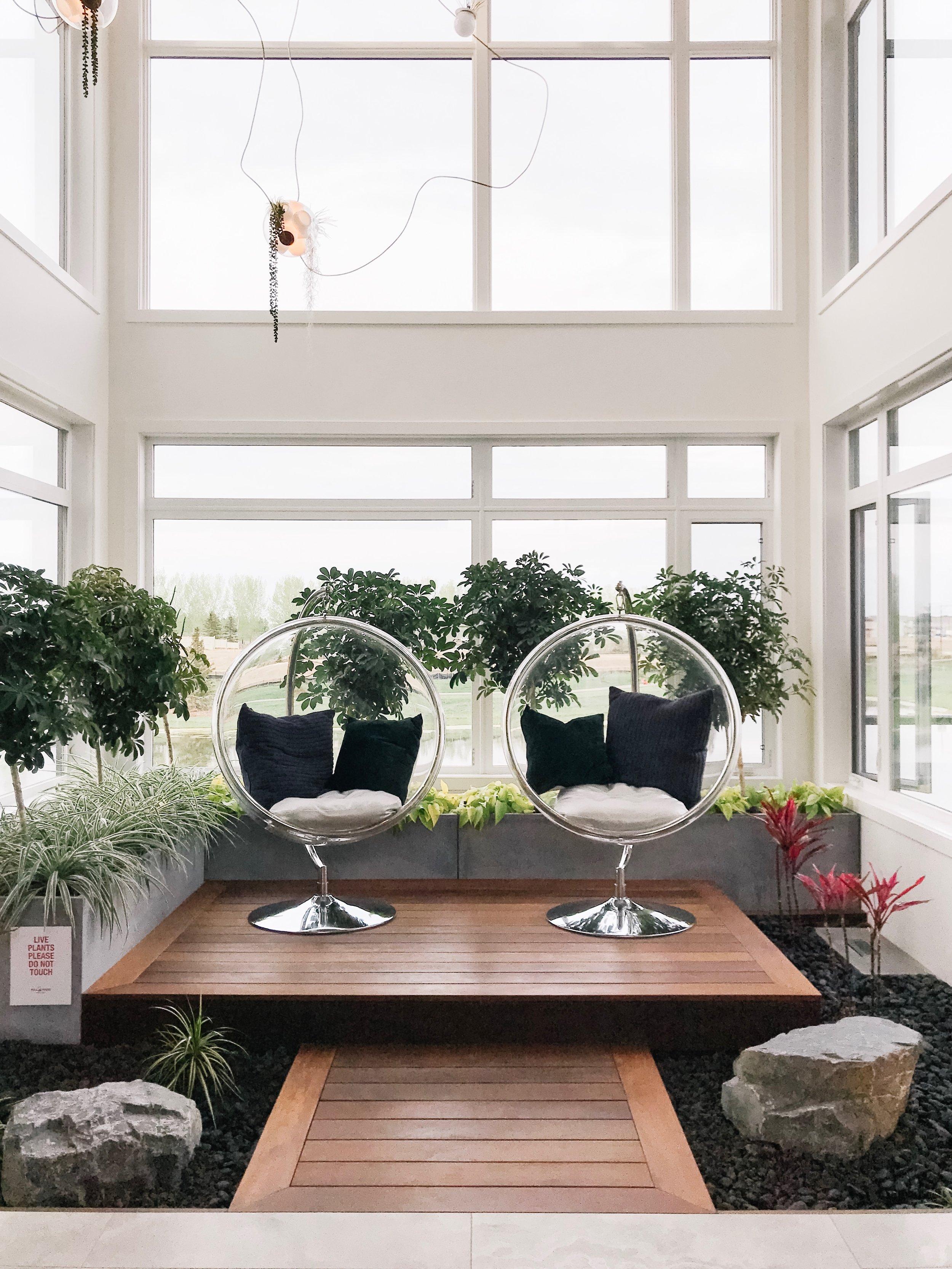 indoor atrium