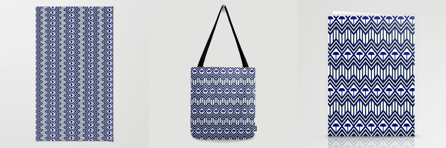 rug // tote bag // stationary