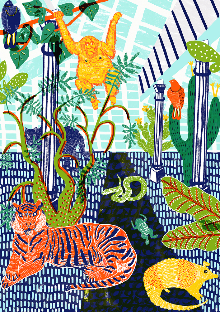 """Jungle Print"" by  C  amilla P  erkins"