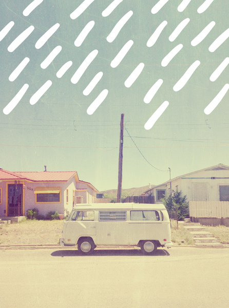 """ VOLKSWAGEN, NEW MEXICO "" by Anna Dorfman"