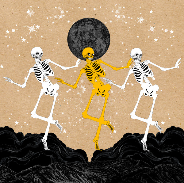 """ dancing skeletons ""  by sarah howell"