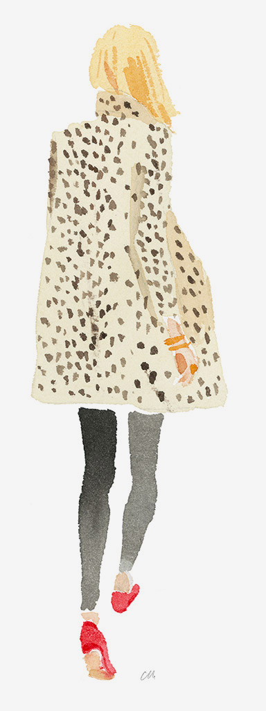 """Leopard Coat"" by Caitlin McGualey"