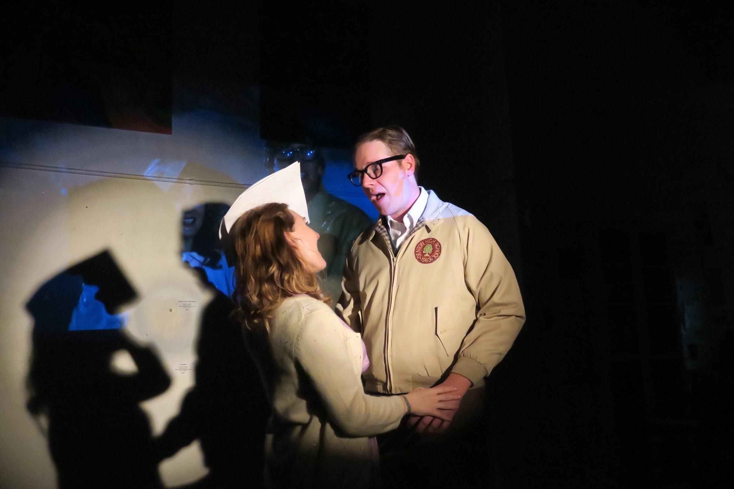 Brad Janet Over at the Frankenstein Rehearsal Rocky Horror ACYPAA 2018 .JPG
