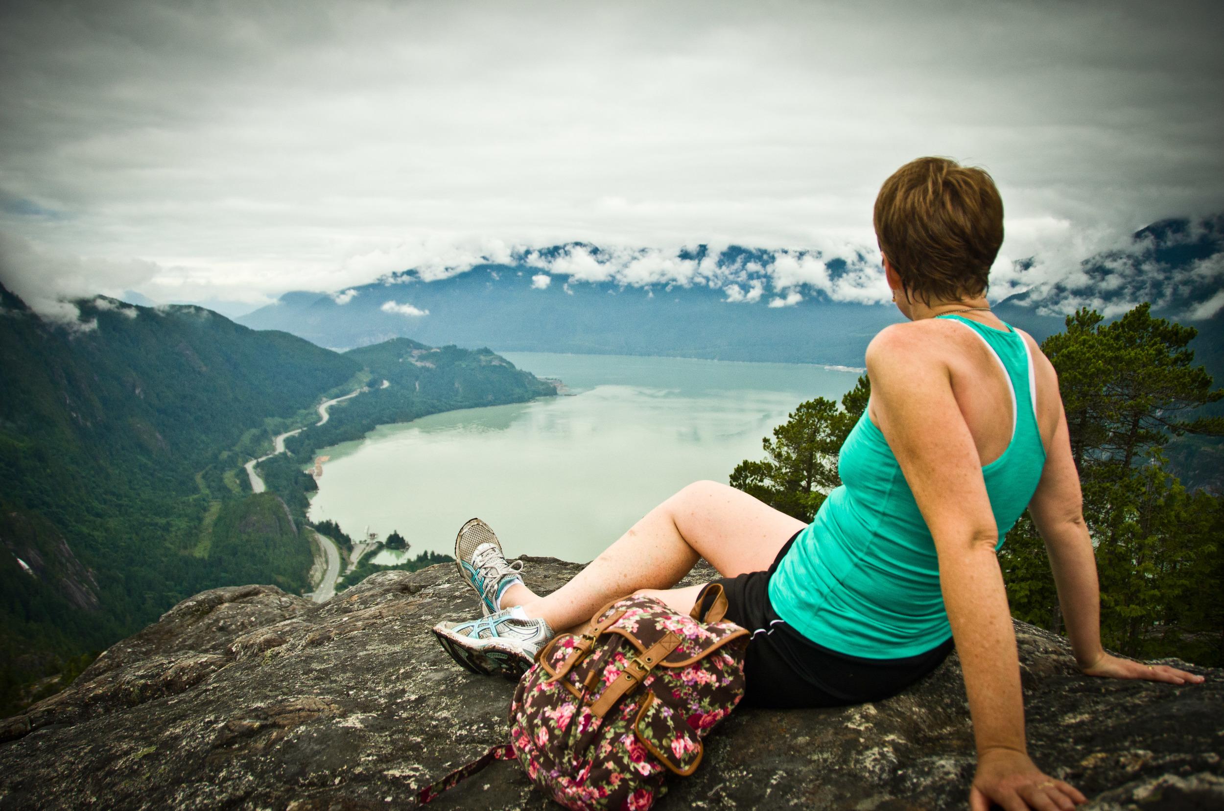 Stawamus Chief, near Vancouver BC, summer 2013