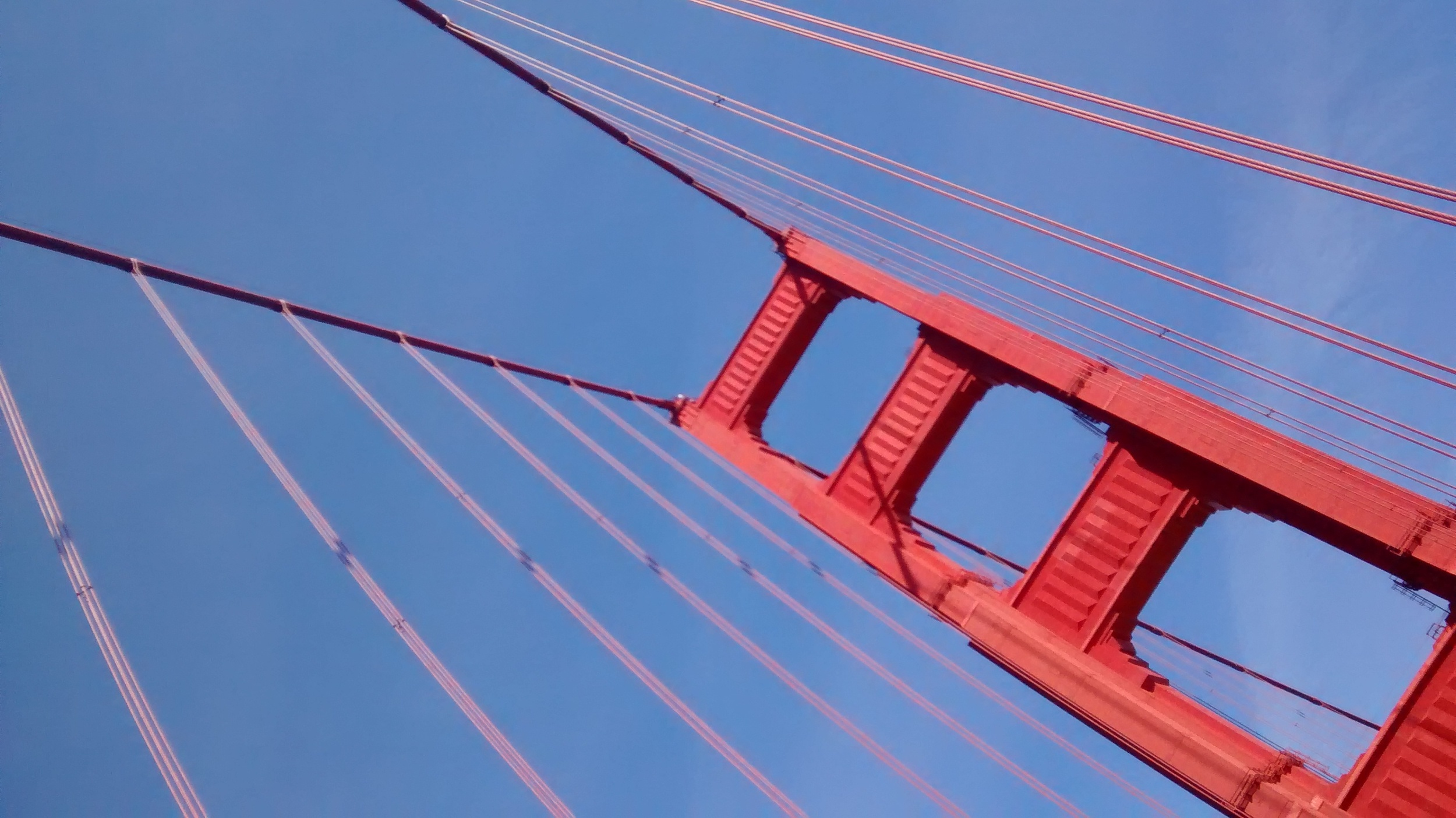 We went over the bridge 6 times on Saturday. Slight misunderstanding about the bus route and how to get to Sausalito...but I did perfect my bridge-photo-taking-skills with the practice.