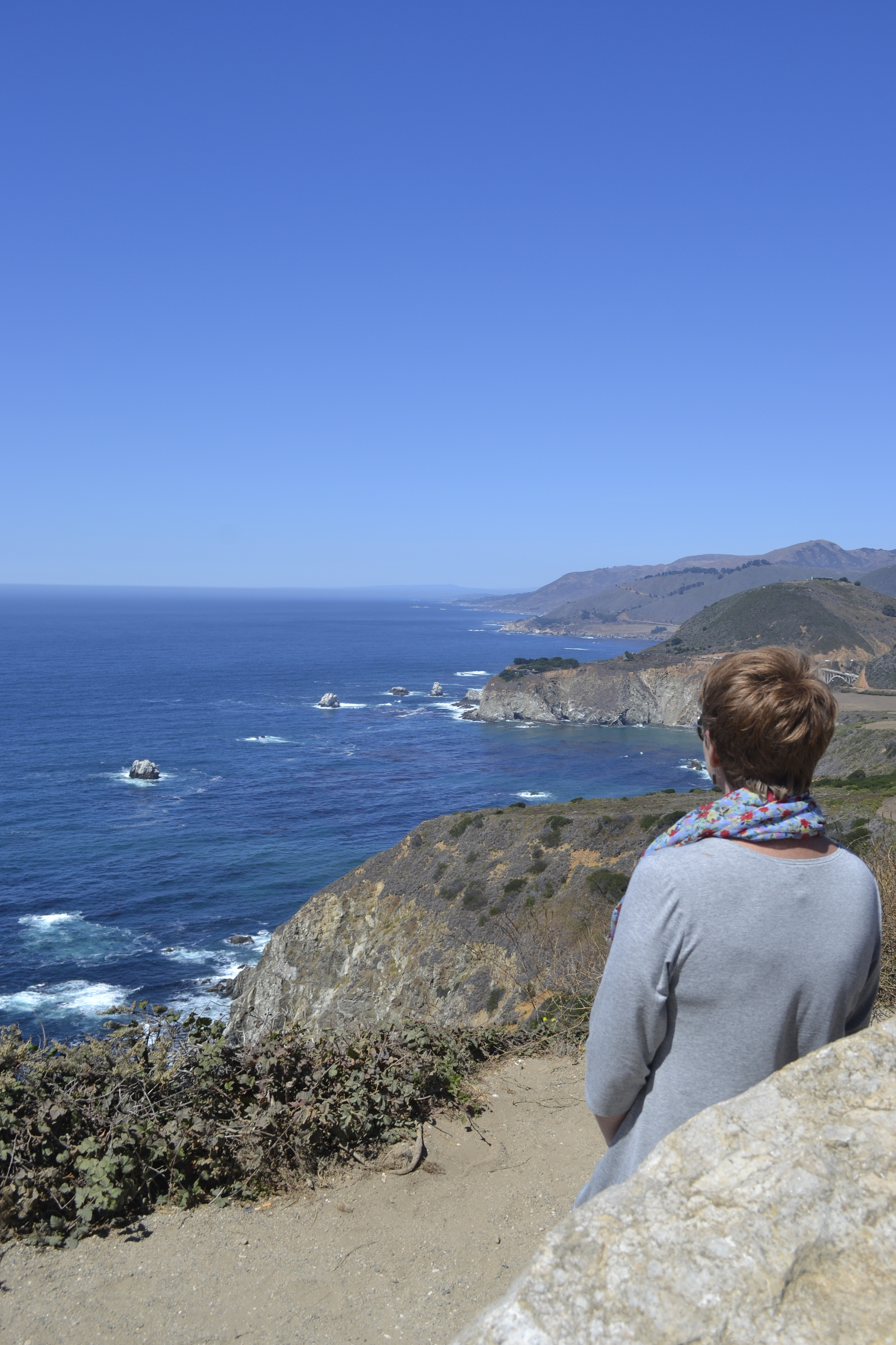 along the Pacific Coast Highway near Big Sur, CA, last September (photo:  Andy Bruner)