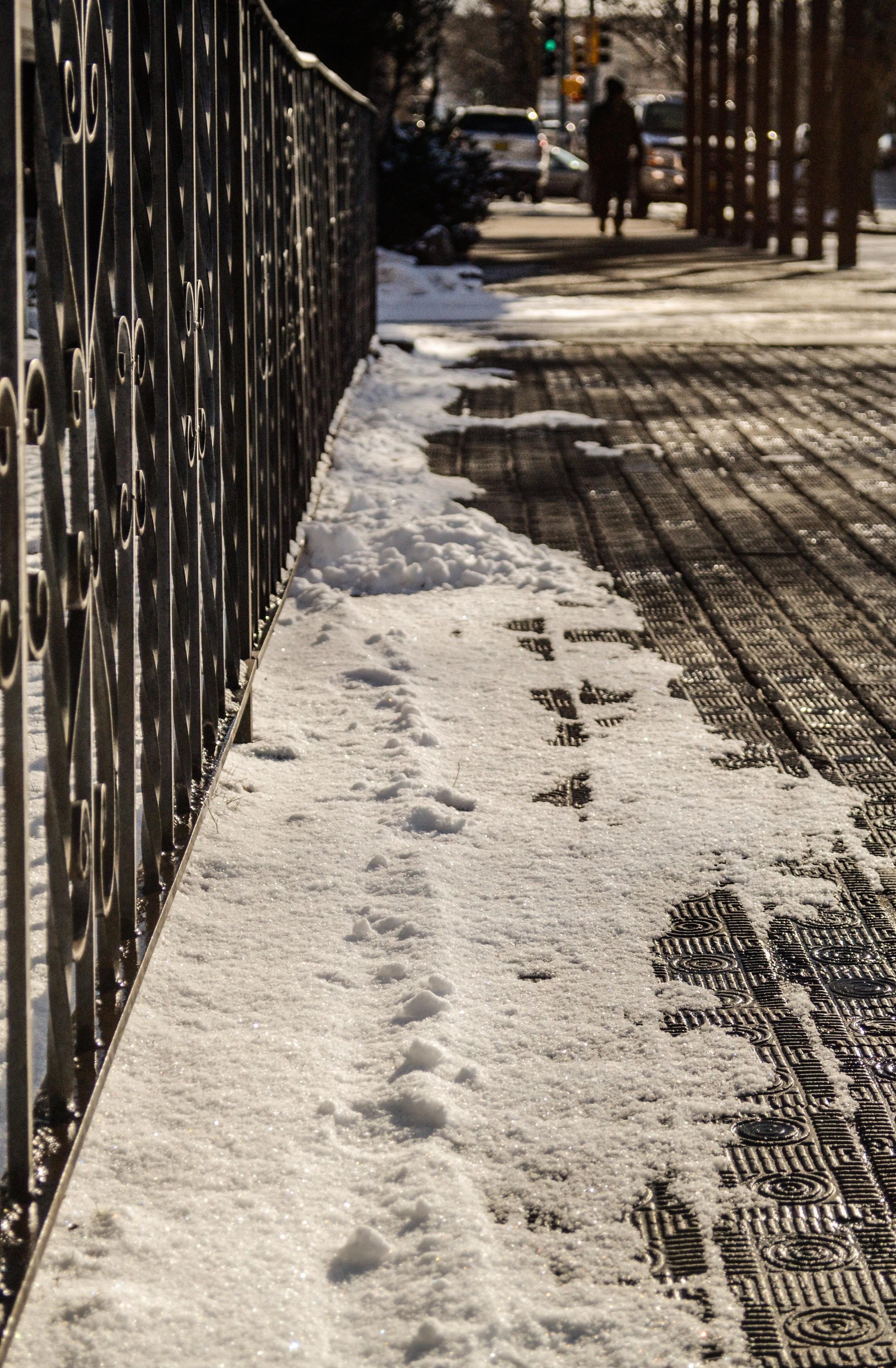 Santa Fe sidewalk (photo: Andy Bruner)