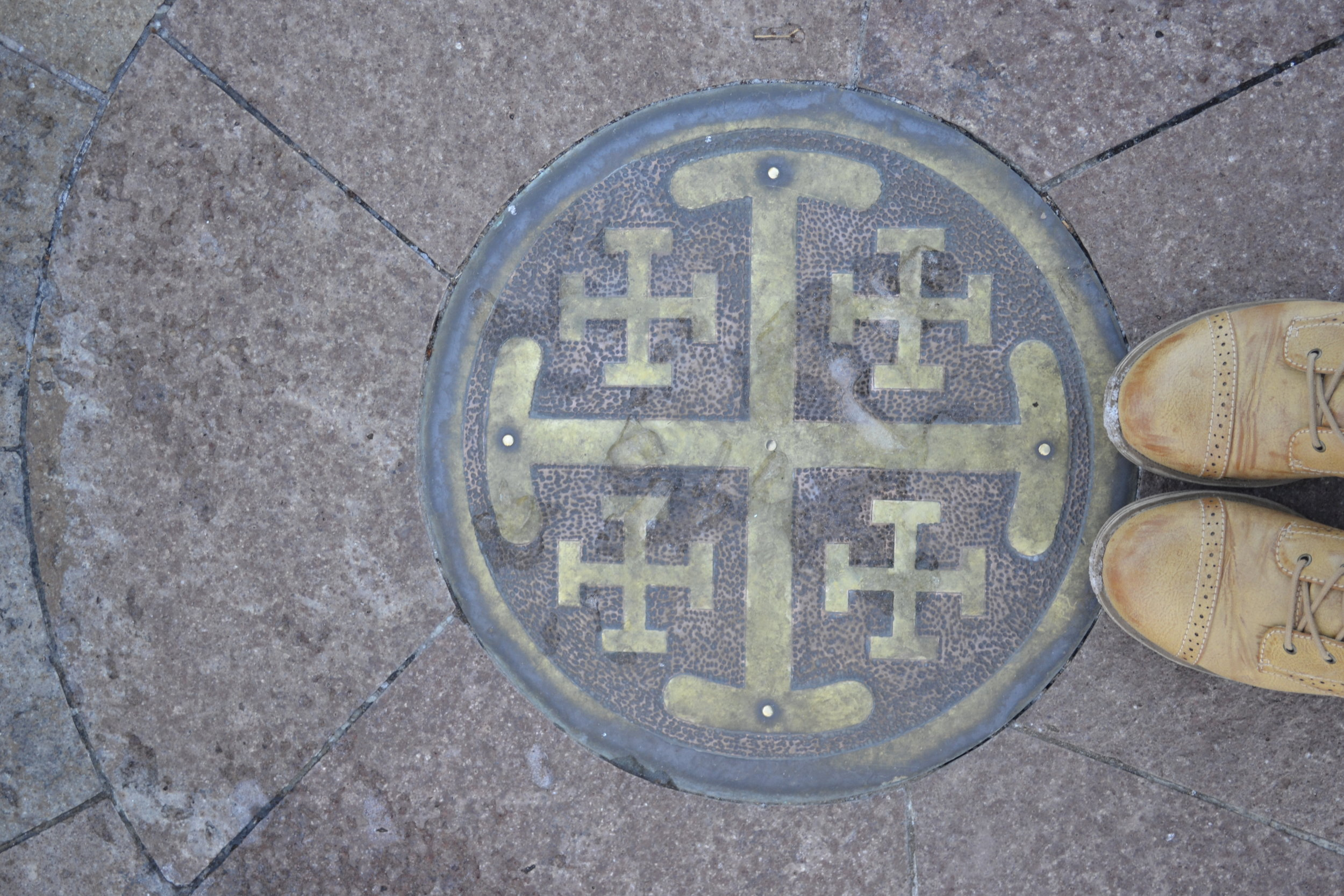 Labyrinth Center, Cathedral Basilica of St. Francis of Assisi, Santa Fe NM