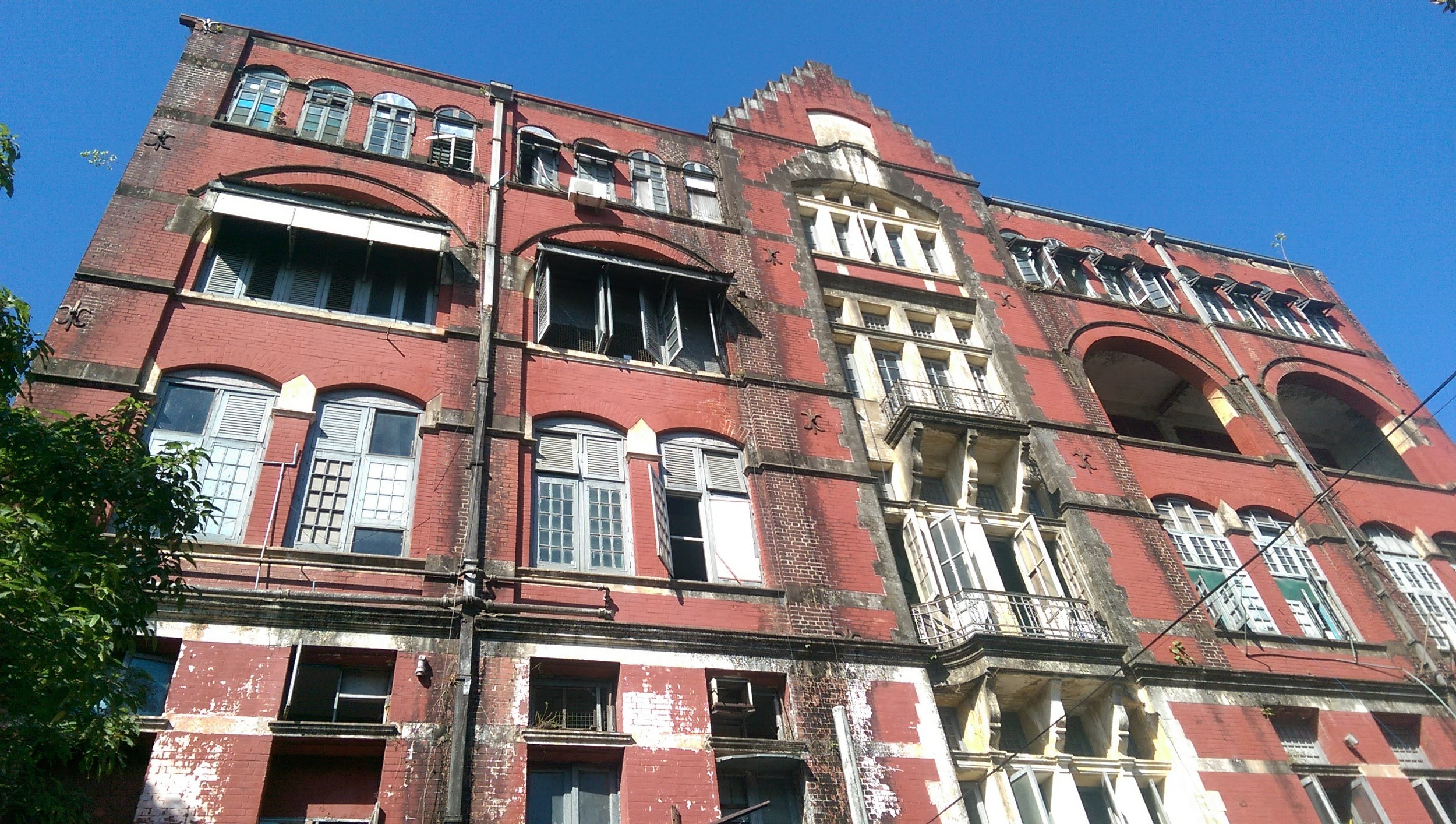 Secret police building, still in use, Yangon, Myanmar.  Photo: me and my cell phone.  Don't turn me in.